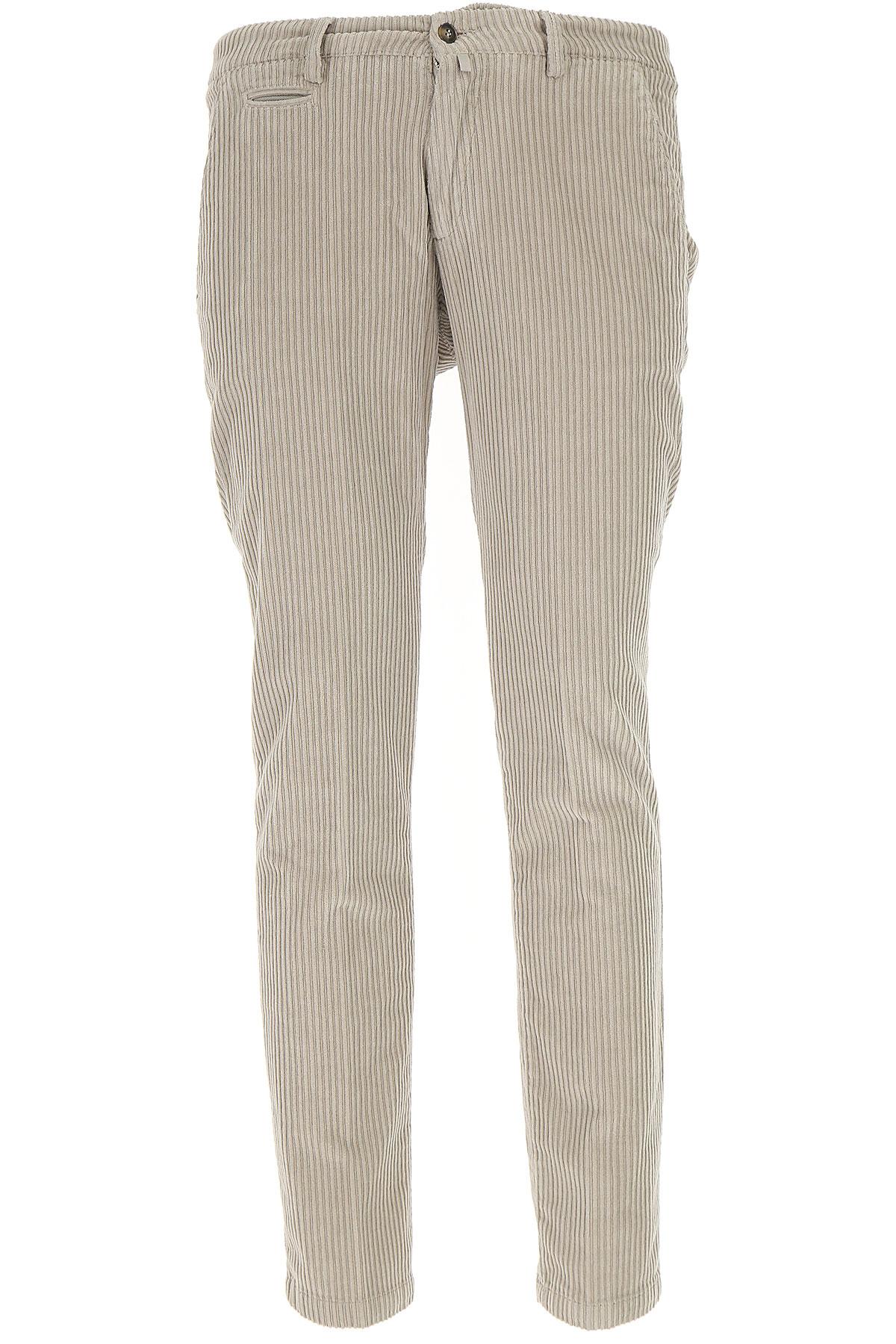 Image of Briglia Pants for Men, Ecru, Cotton, 2017, US 30 - EU 44 US 32 - EU 46 US 34 - EU 48 US 36 - EU 50 US 38 - EU 52