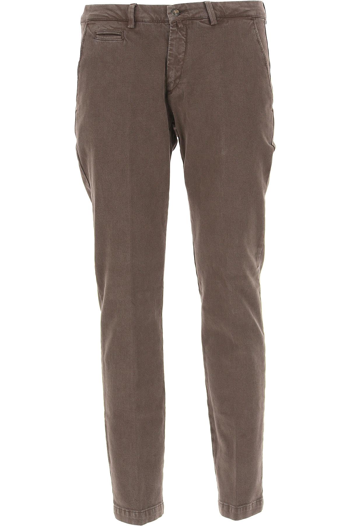 Image of Briglia Pants for Men, Brownish-grey, Cotton, 2017, US 34 - EU 48 US 36 - EU 50