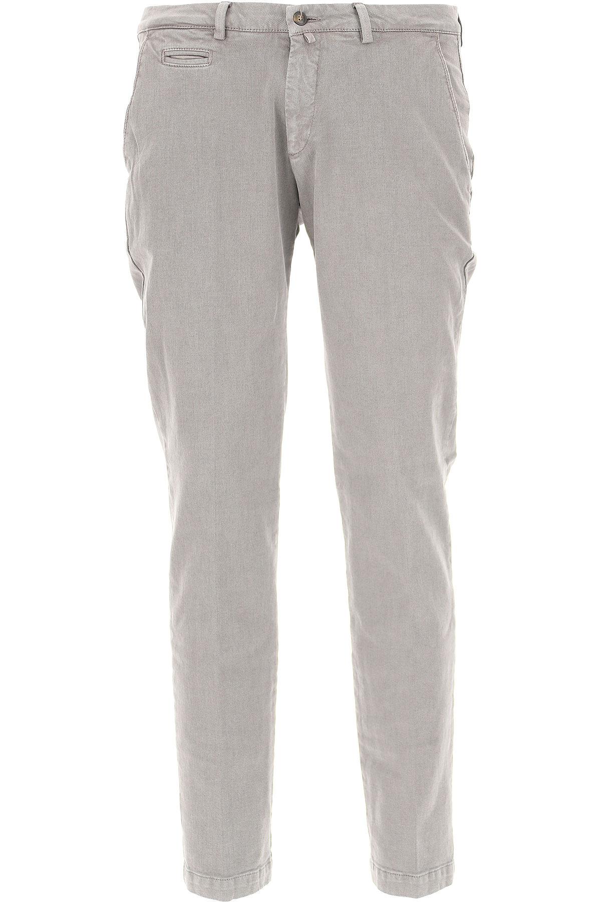 Image of Briglia Pants for Men, Light Grey, Cotton, 2017, US 34 - EU 48 US 36 - EU 50 US 38 - EU 52