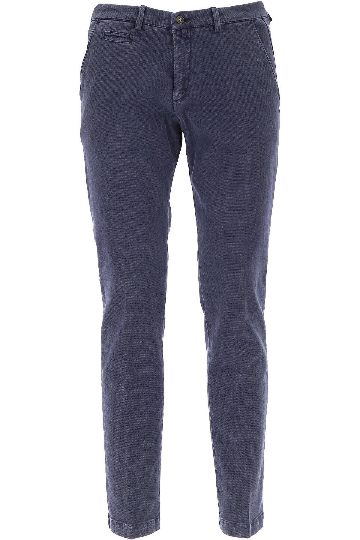 Image of Briglia Pants for Men, Night Blue, Cotton, 2017, US 34 - EU 48 US 36 - EU 50 US 38 - EU 52