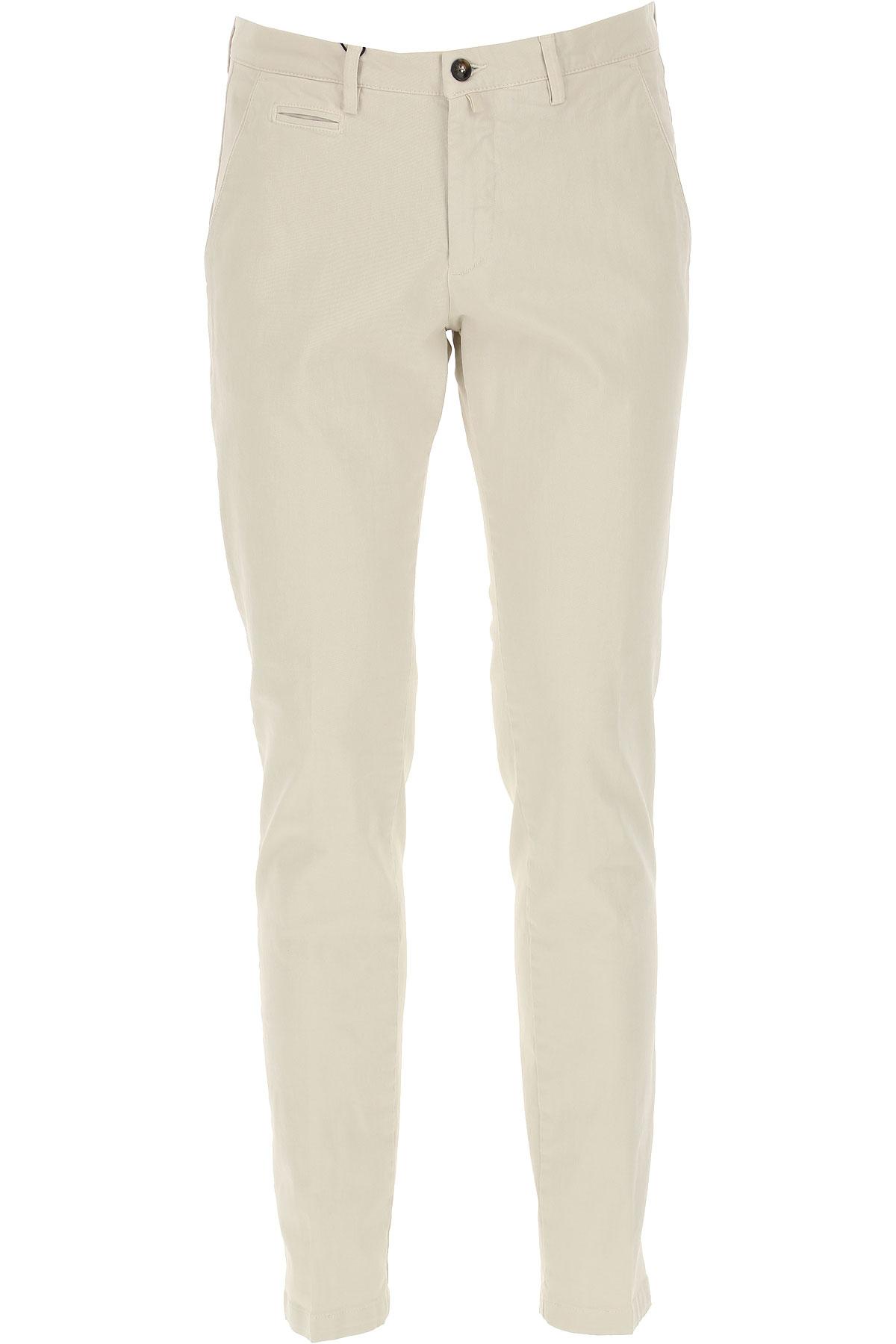 Briglia Pants for Men On Sale, Cream, Cotton, 2019, 32 34