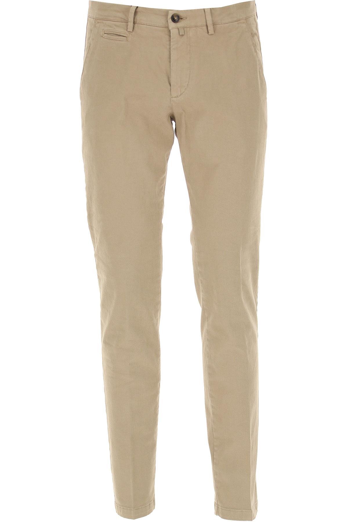 Briglia Pantalon Homme, Beige, Coton, 2019, 48 50 54