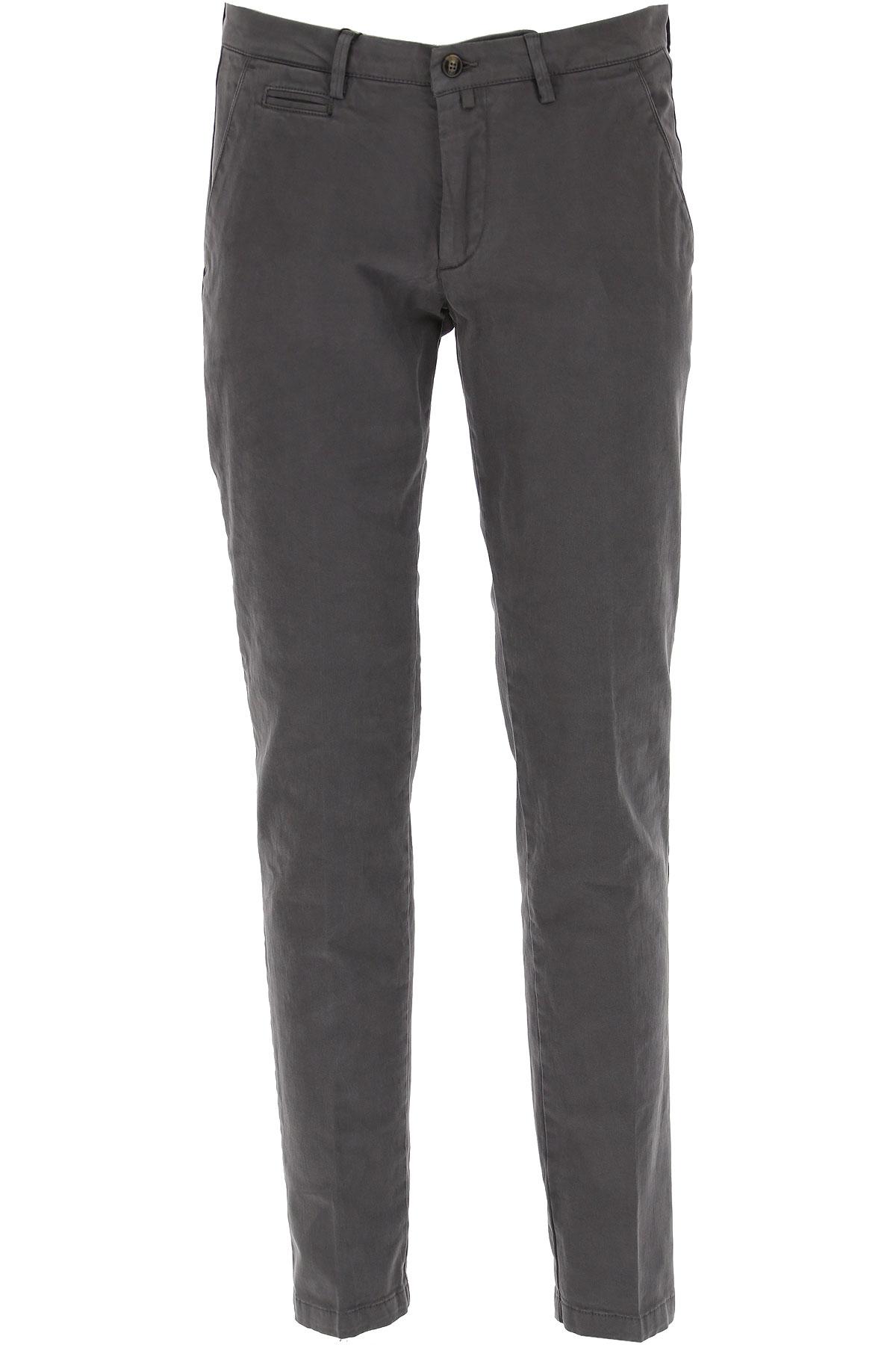 Briglia Pants for Men On Sale, Grey, Cotton, 2019, 34 36 40
