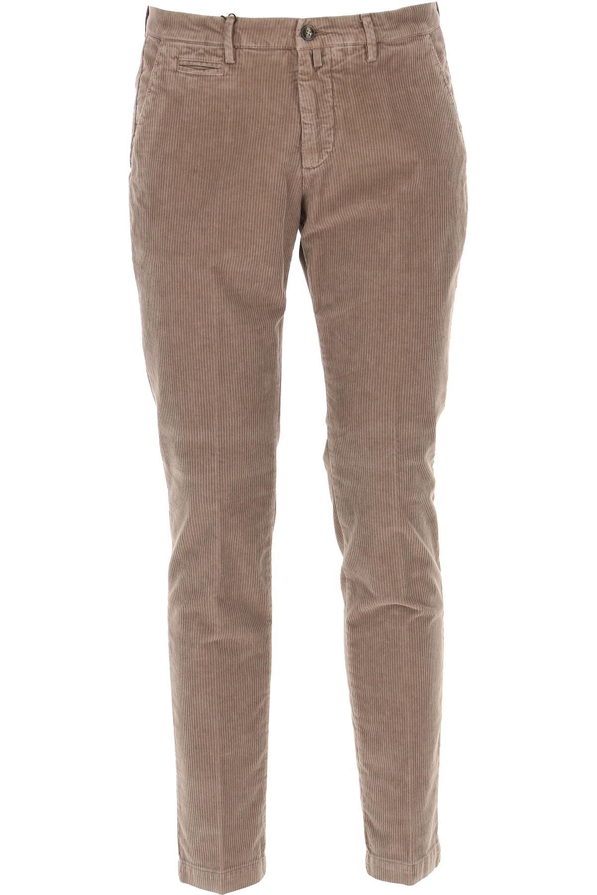 Briglia Pants for Men On Sale, Turtledove, Cotton, 2019, 31 32 34 36 38