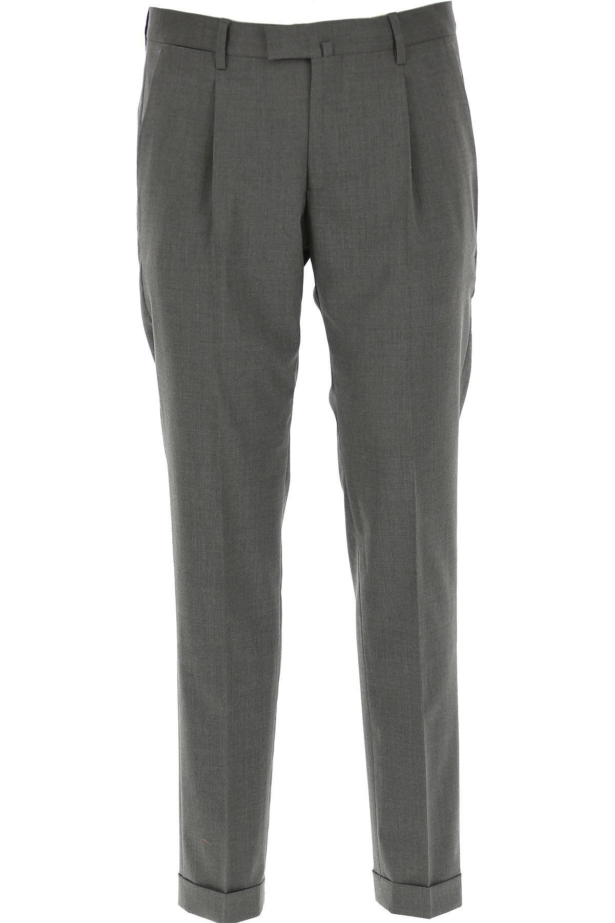 Briglia Pants for Men On Sale, Grey, Wool, 2019, 32 34 36