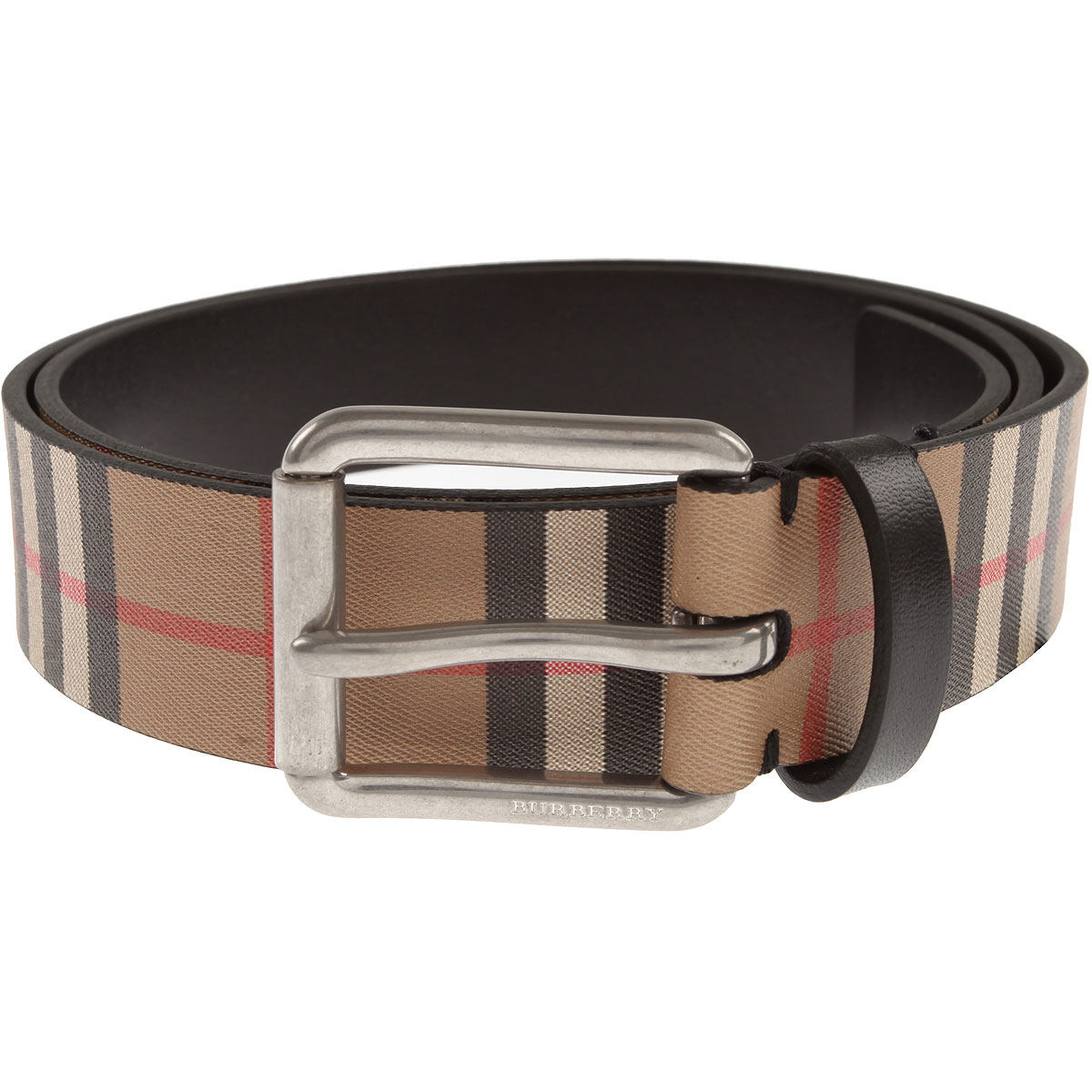 Image of Burberry Belts, Beige, Leather, 2017, 36 38 40 42 44