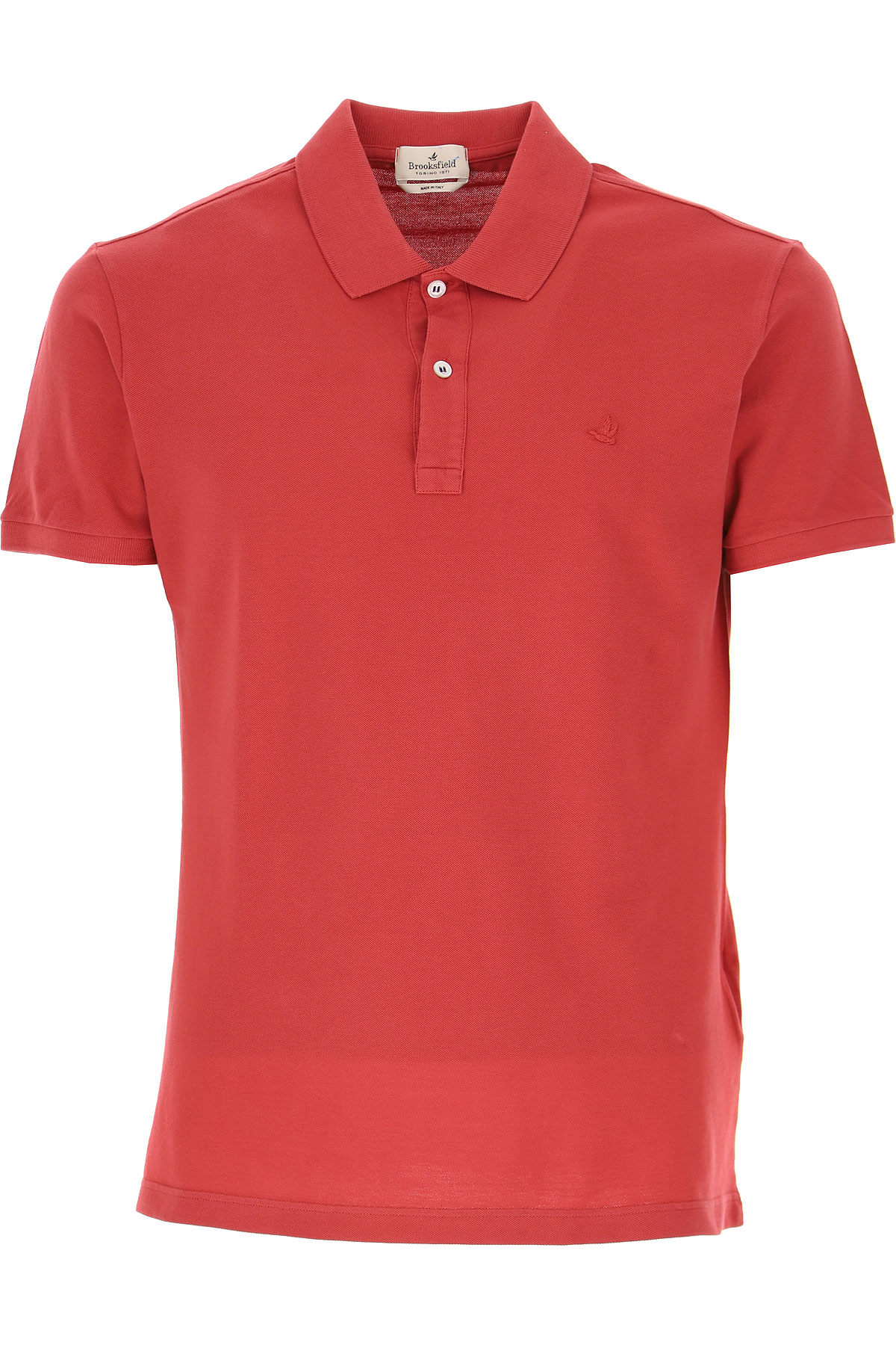 Brooksfield Polo Shirt for Men On Sale, Crimson, Cotton, 2019, L M XL XXL XXXL