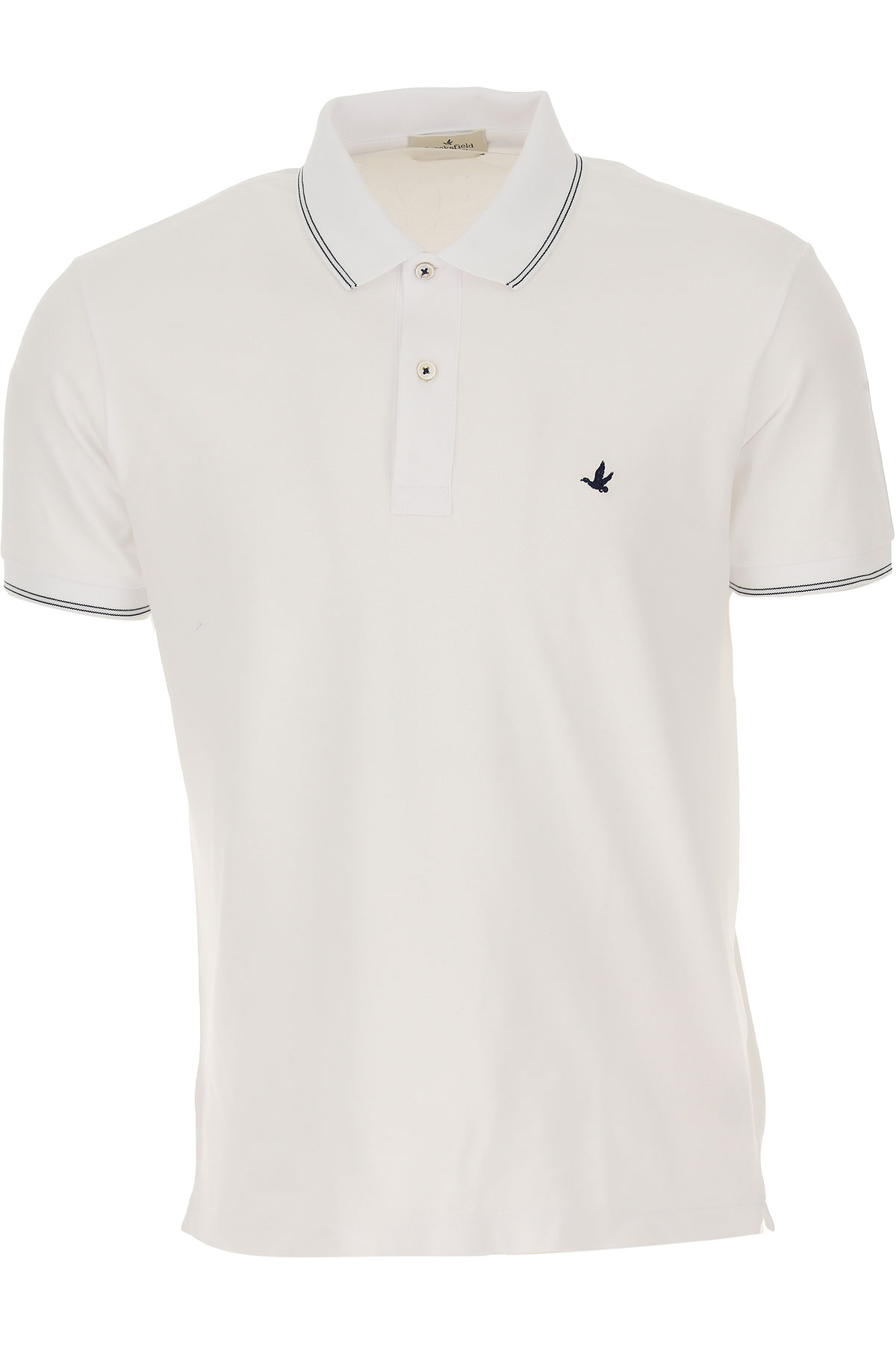 Brooksfield Polo Shirt for Men On Sale, White, Cotton, 2019, L M XXL XXXL