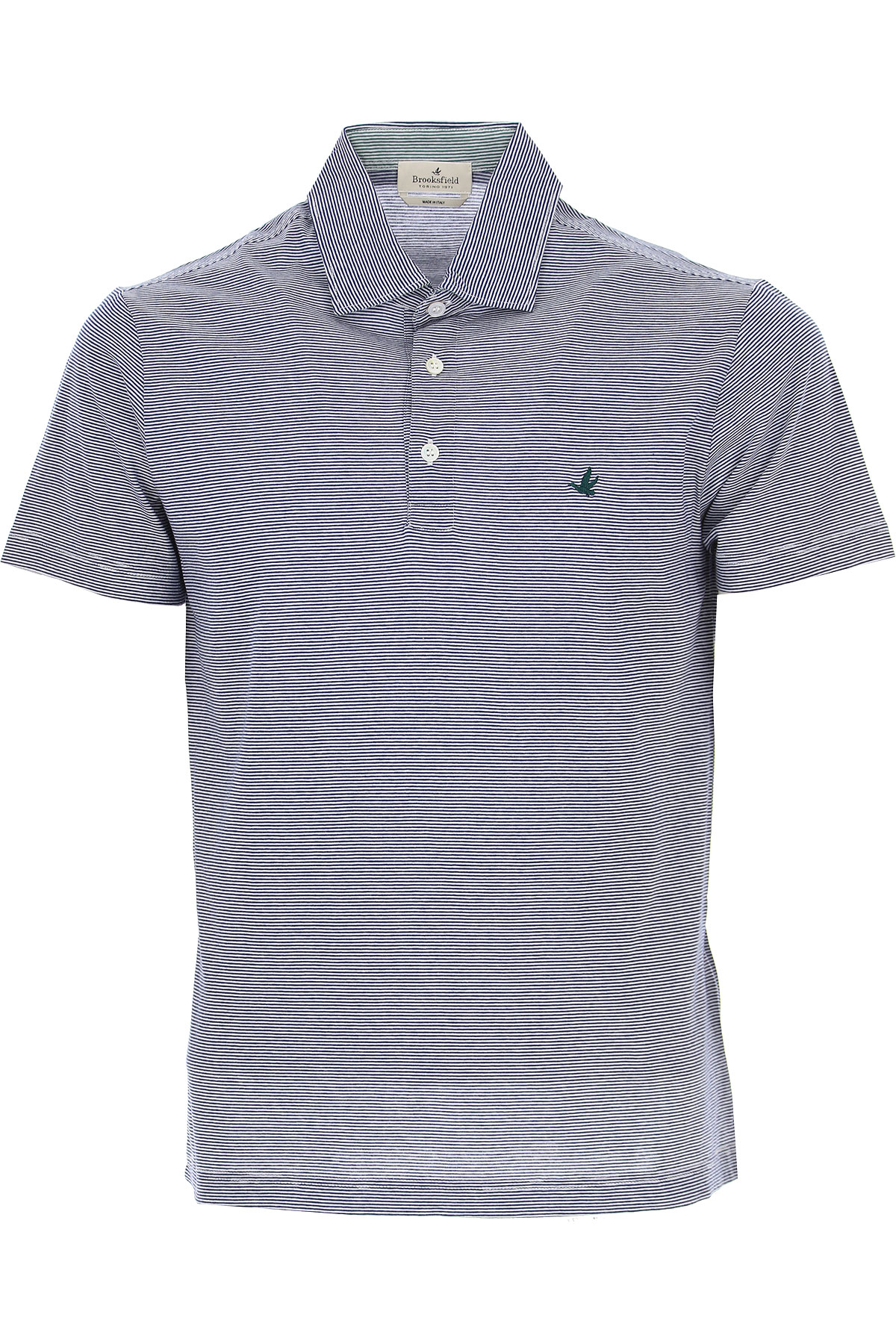 Brooksfield Polo Shirt for Men On Sale, Blu Navy, Cotton, 2019, L M XL XXL XXXL