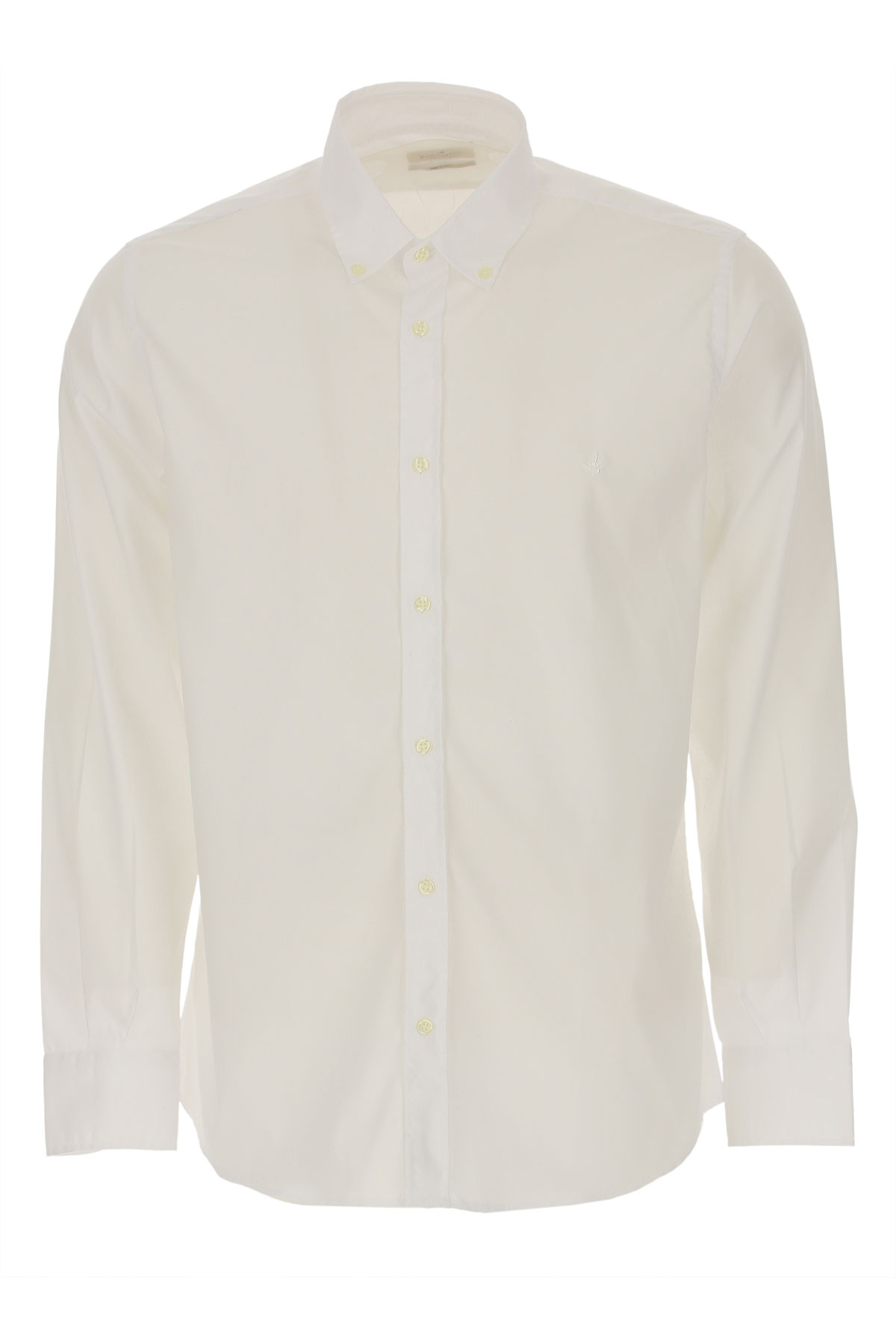 Brooksfield Shirt for Men, White, Cotton, 2019, 15.5 15.75 16 16.5 17 17.5