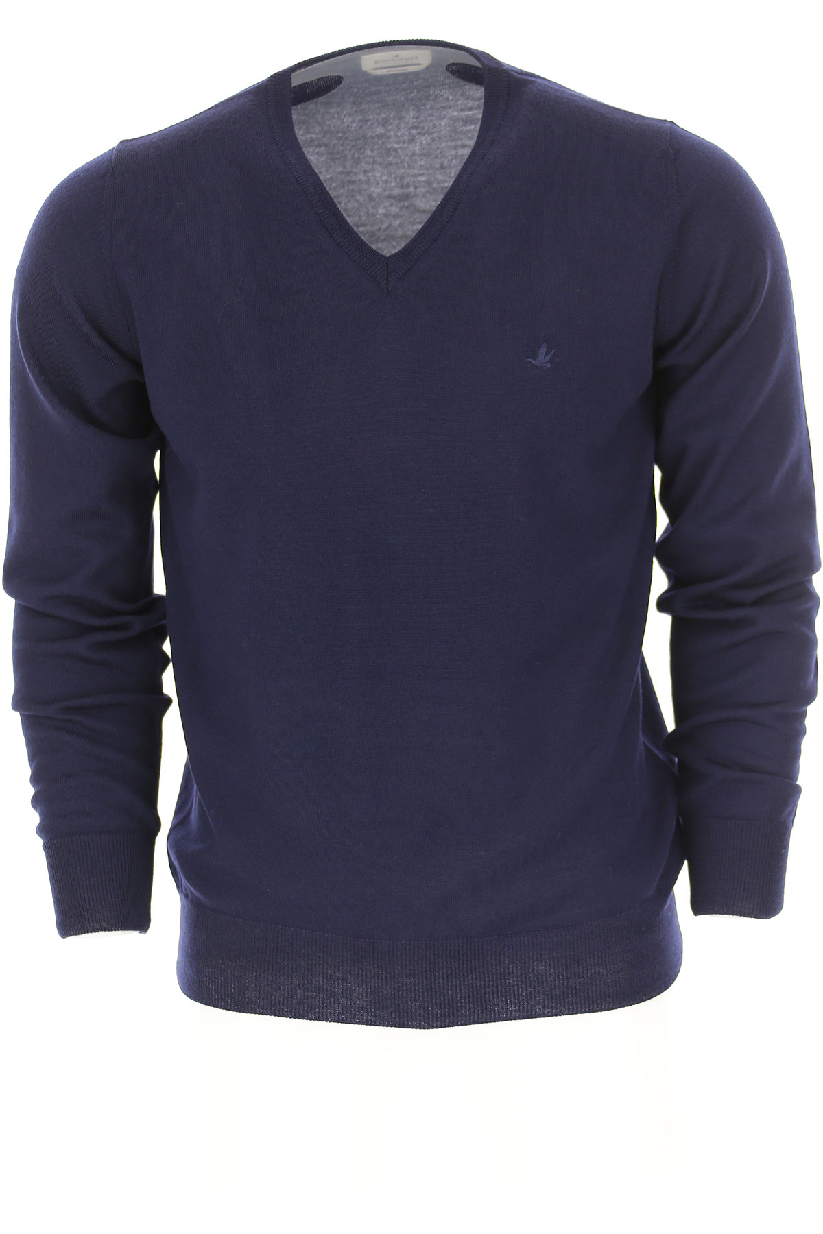 Image of Brooksfield Sweater for Men Jumper, Blue Ink, Virgin wool, 2017, L M XL