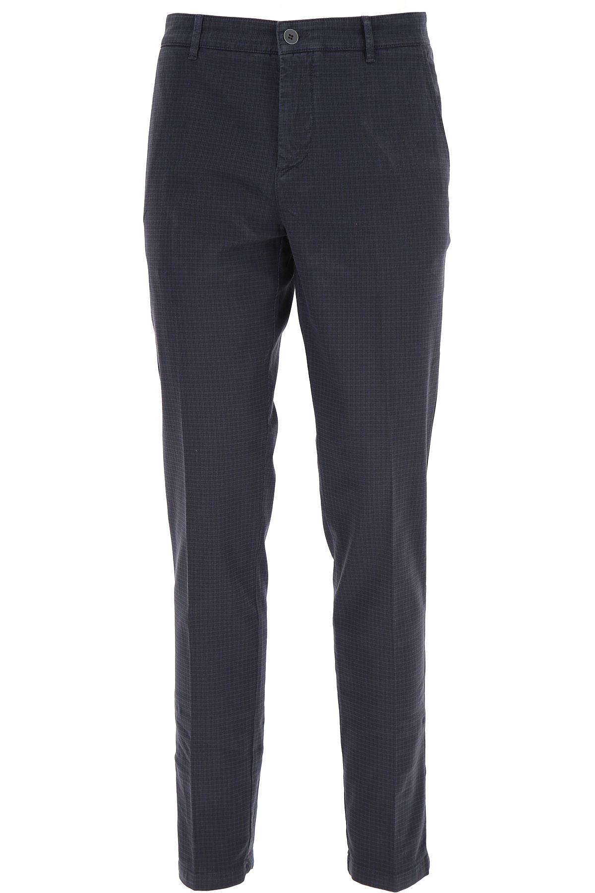 Brooksfield Pants for Men On Sale, Blue, Cotton, 2019, 32 34 36 38
