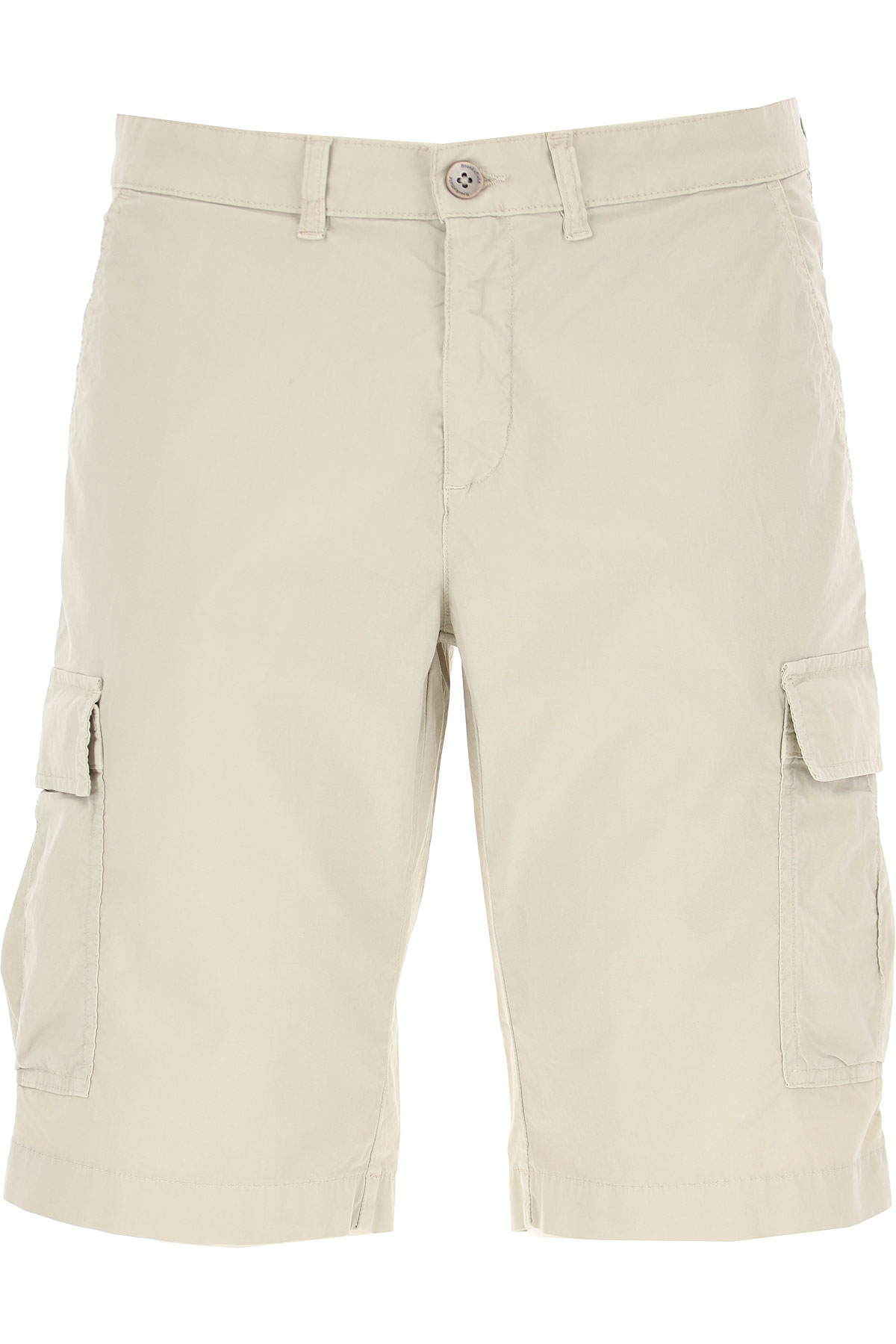 Brooksfield Shorts for Men On Sale, Beige, Cotton, 2019, 32 34 36 38