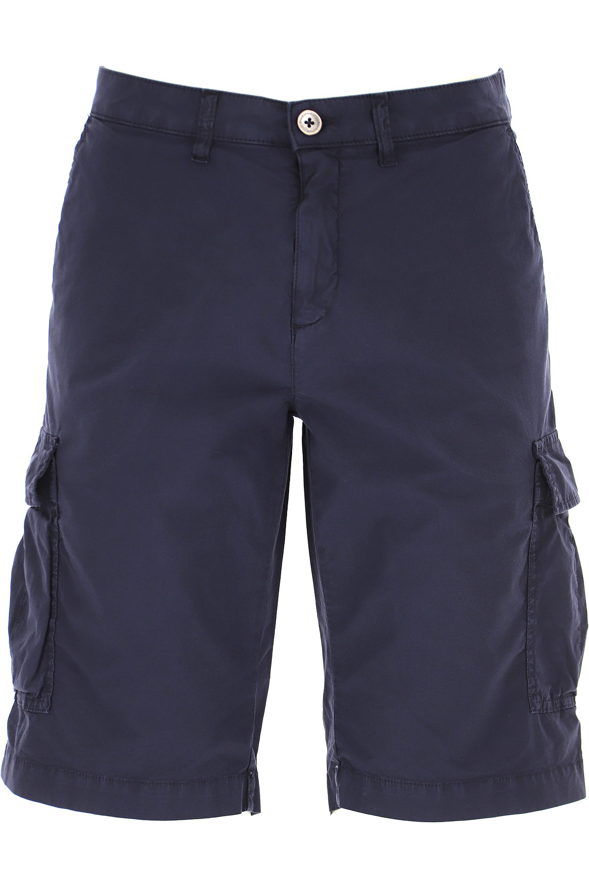 Brooksfield Shorts for Men On Sale, Blue Navy, Cotton, 2019, 32 34 36 38