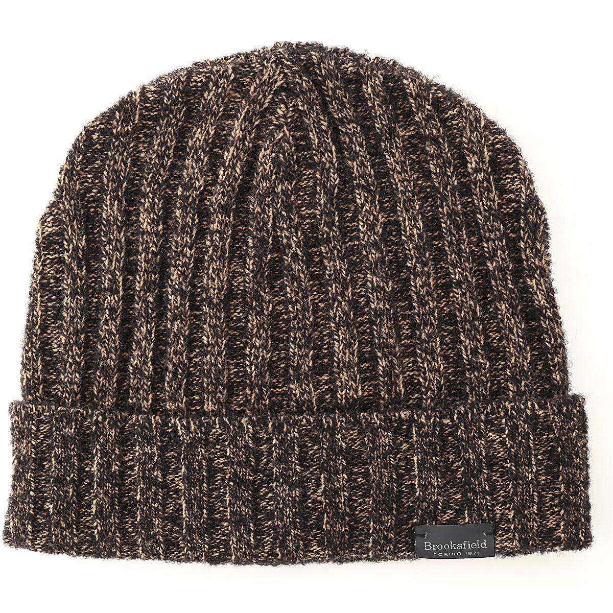 Brooksfield Hat for Women On Sale, Bark brown, Wool, 2019