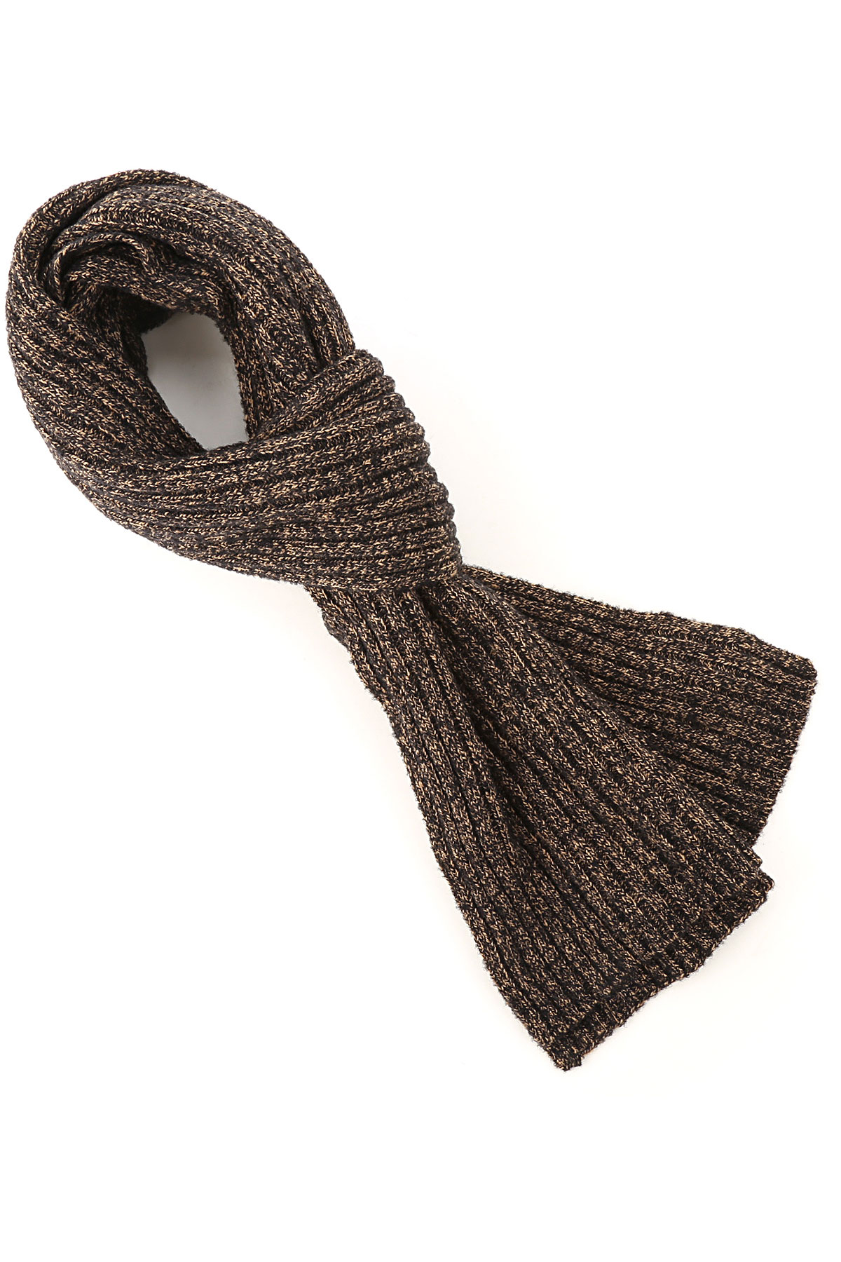 Brooksfield Scarf for Men, Bark brown, Wool, 2019