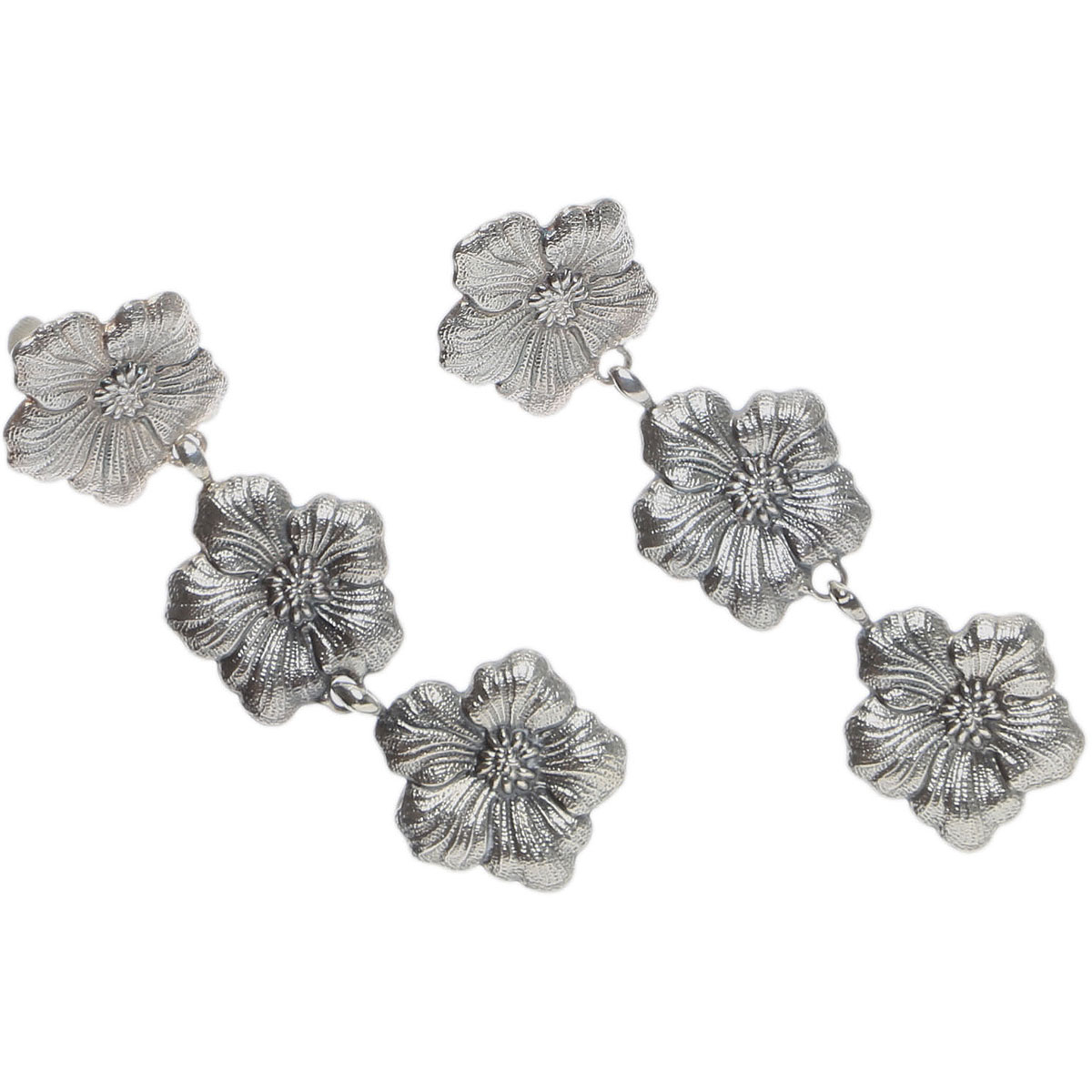 Image of Buccellati Earrings for Women, Silver, Silver 925, 2017