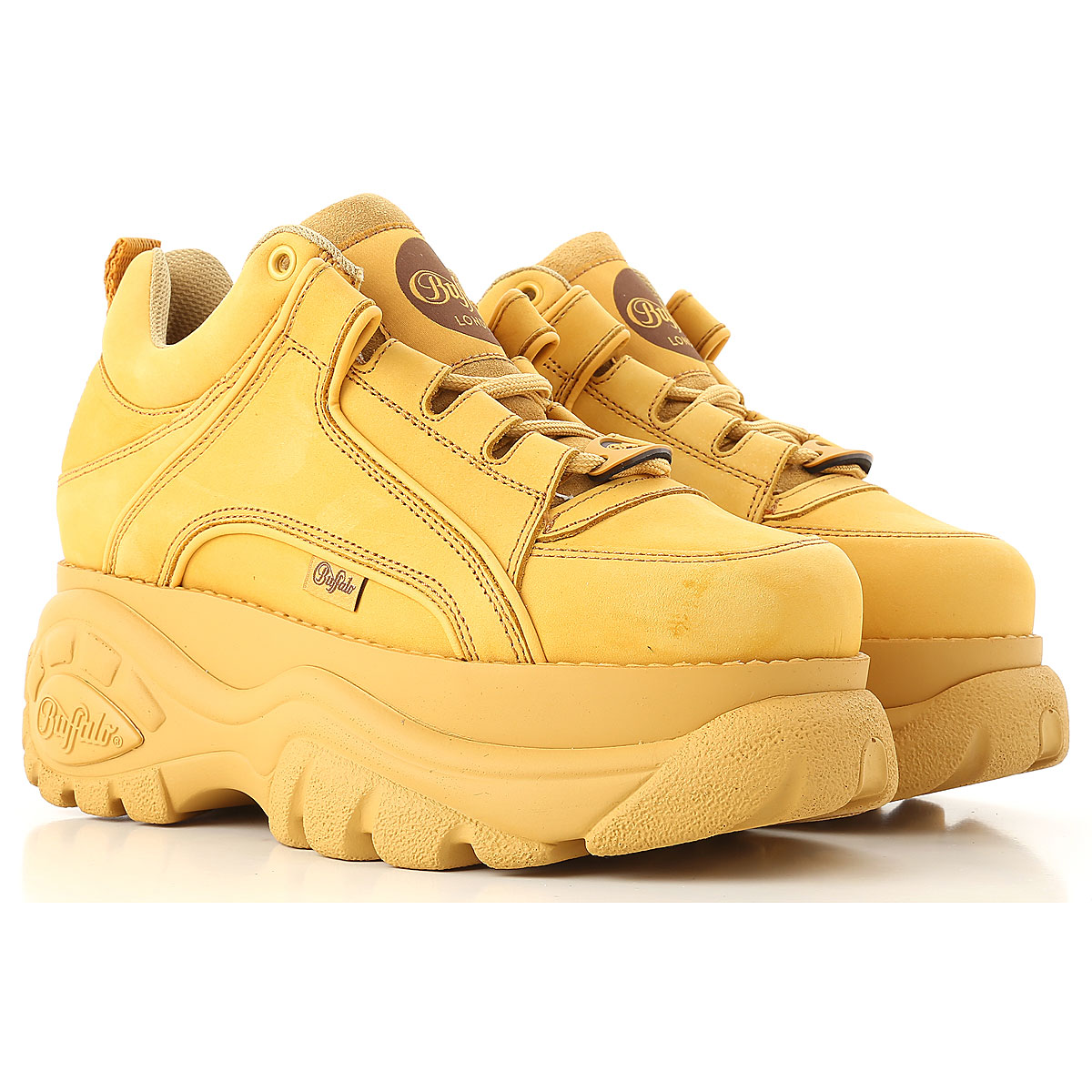 Buffalo Sneakers for Women On Sale in Outlet, Desert, Leather, 2019, UK 5.5 - EU 39 - US 8.5 UK 6 - EU 40 - US 9
