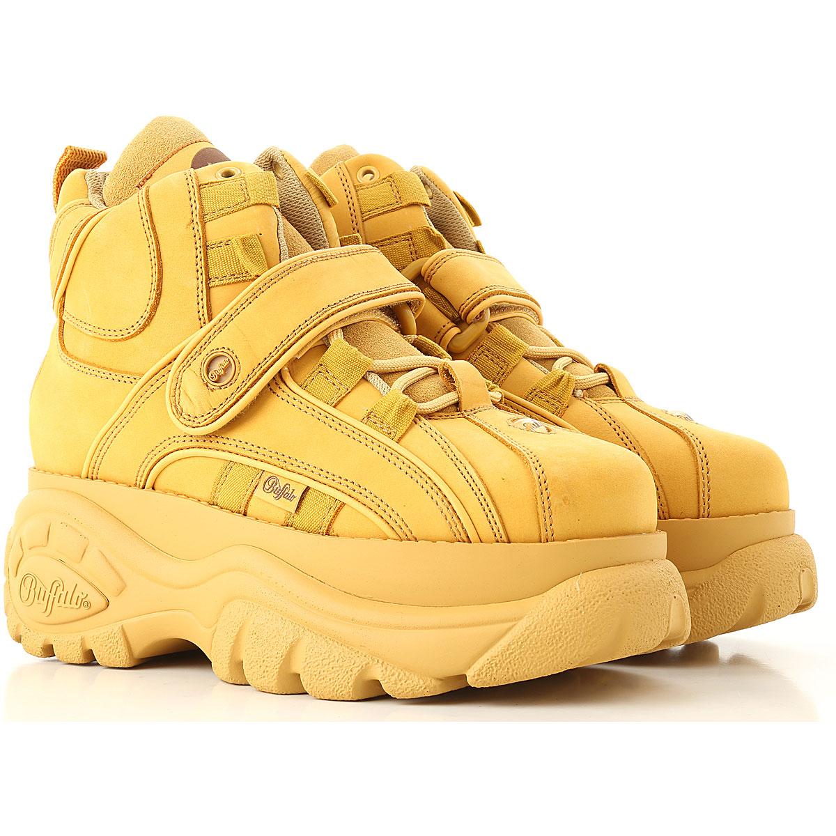 Image of Buffalo Sneakers for Women, Desert, Leather, 2017, UK 3 - EU 36 - US 6 UK 4 - EU 37 - US 7 UK 5 - EU 38 - US 8 UK 6 - EU 39 - US 9 UK 7 - EU 40 - US 10