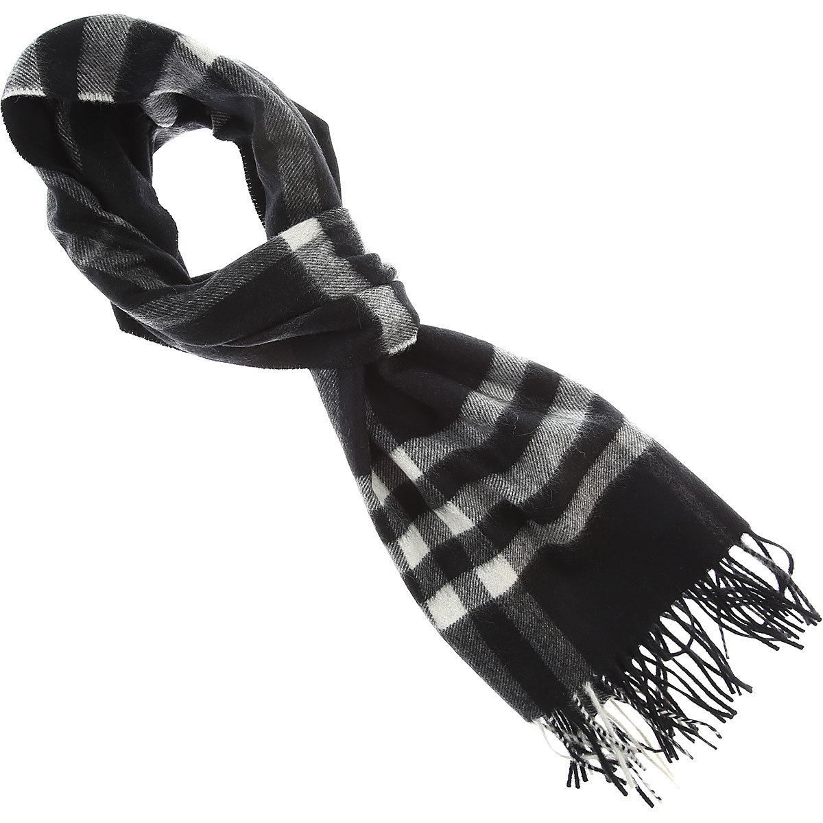 Burberry Scarf for Women, Black, Cashmere, 2019