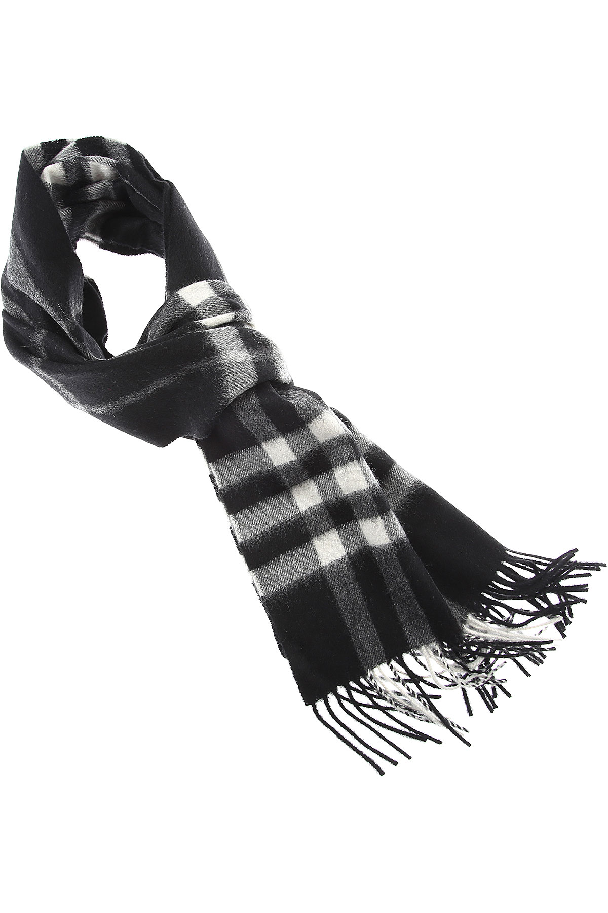 Burberry Scarf for Women On Sale, Black, Cashemere, 2019