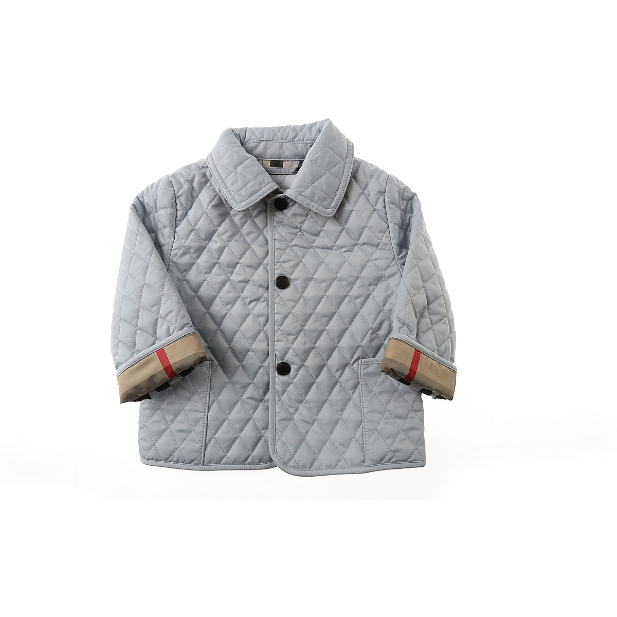 Image of Burberry Baby Jacket for Boys, Skyblue, polyester, 2017, 12M 18M 6M