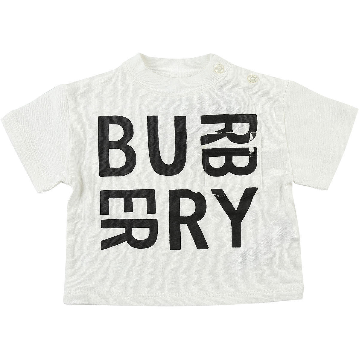 Burberry Baby T-Shirt for Boys On Sale in Outlet, White, Cotton, 2019, 12 M 18M
