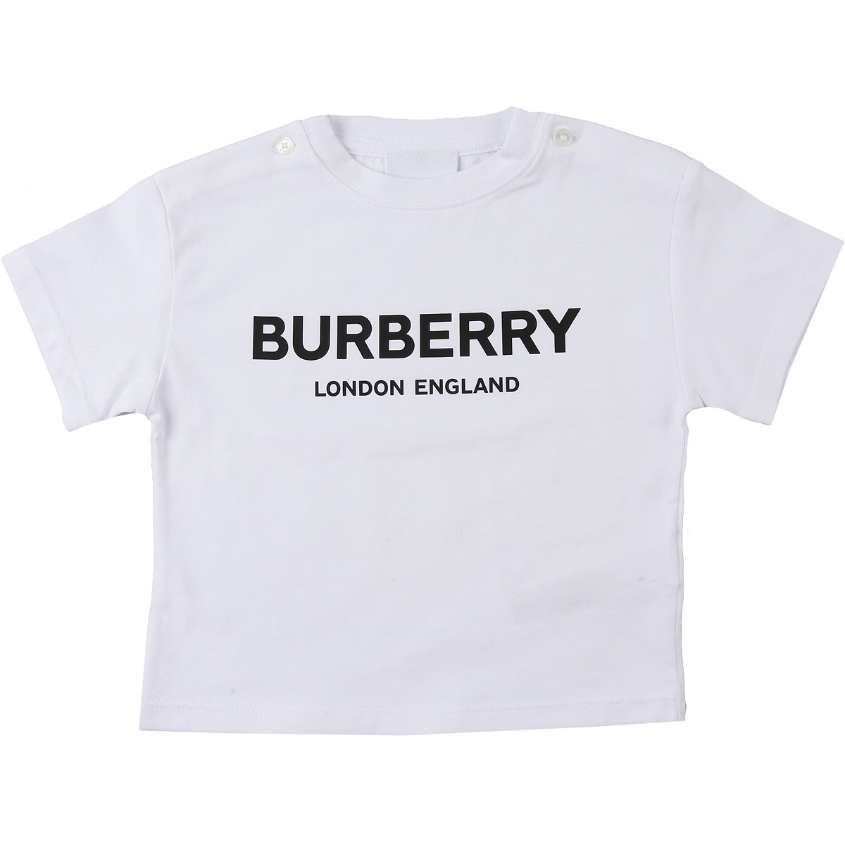Burberry Baby T-Shirt for Boys On Sale, White, Cotton, 2019, 12 M 18M 6M
