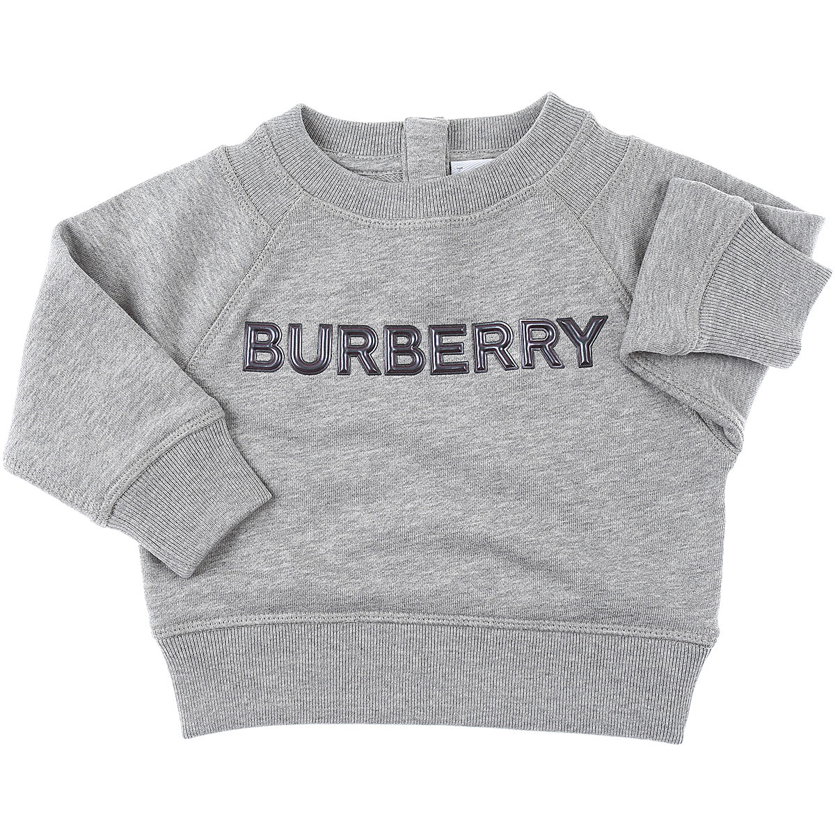 Burberry Baby Sweatshirts & Hoodies for Boys On Sale in Outlet, Grey, Cotton, 2019, 12 M 2Y