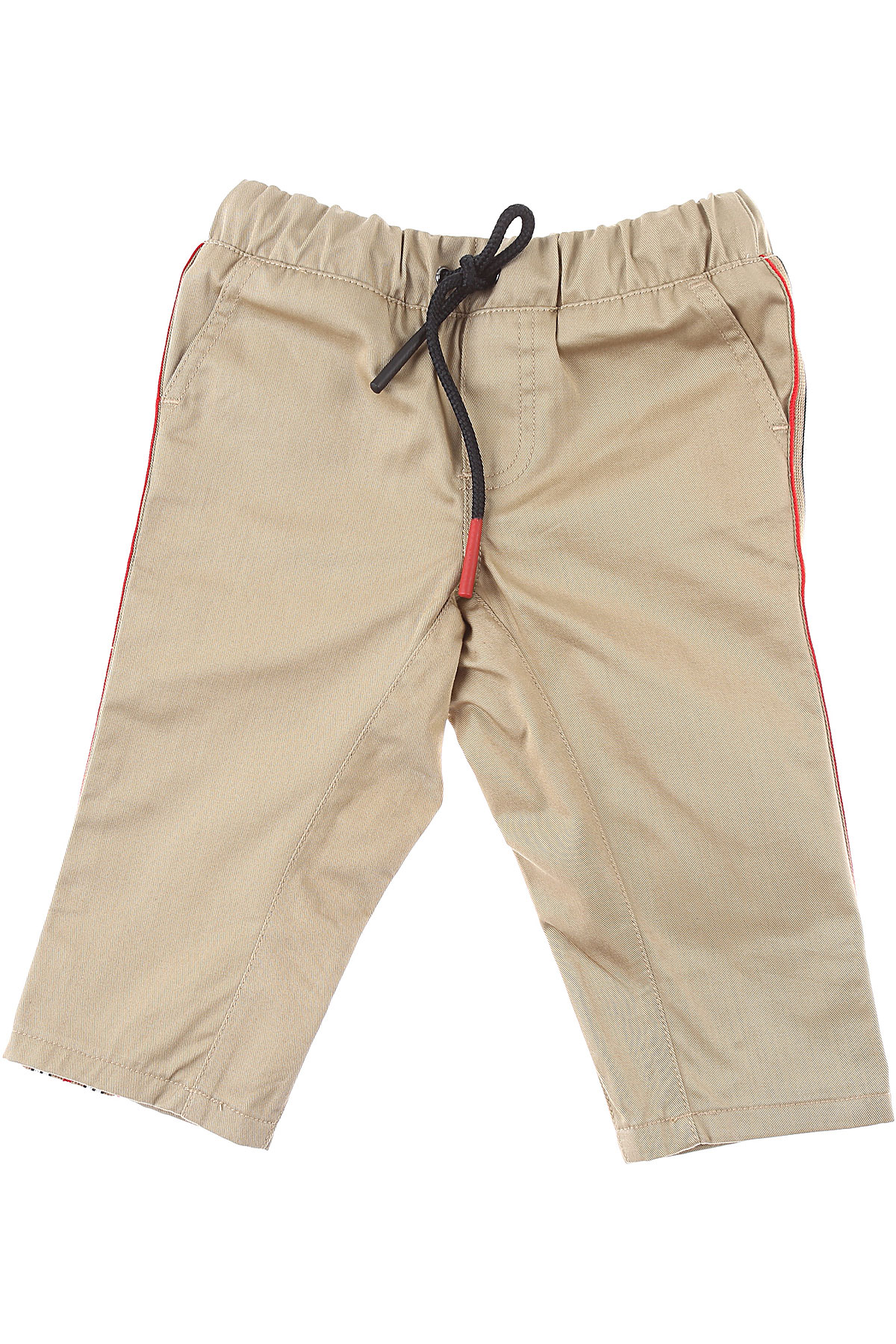 Burberry Baby Pants for Boys On Sale, Beige, Cotton, 2019, 12 M 18 M 2Y 6M