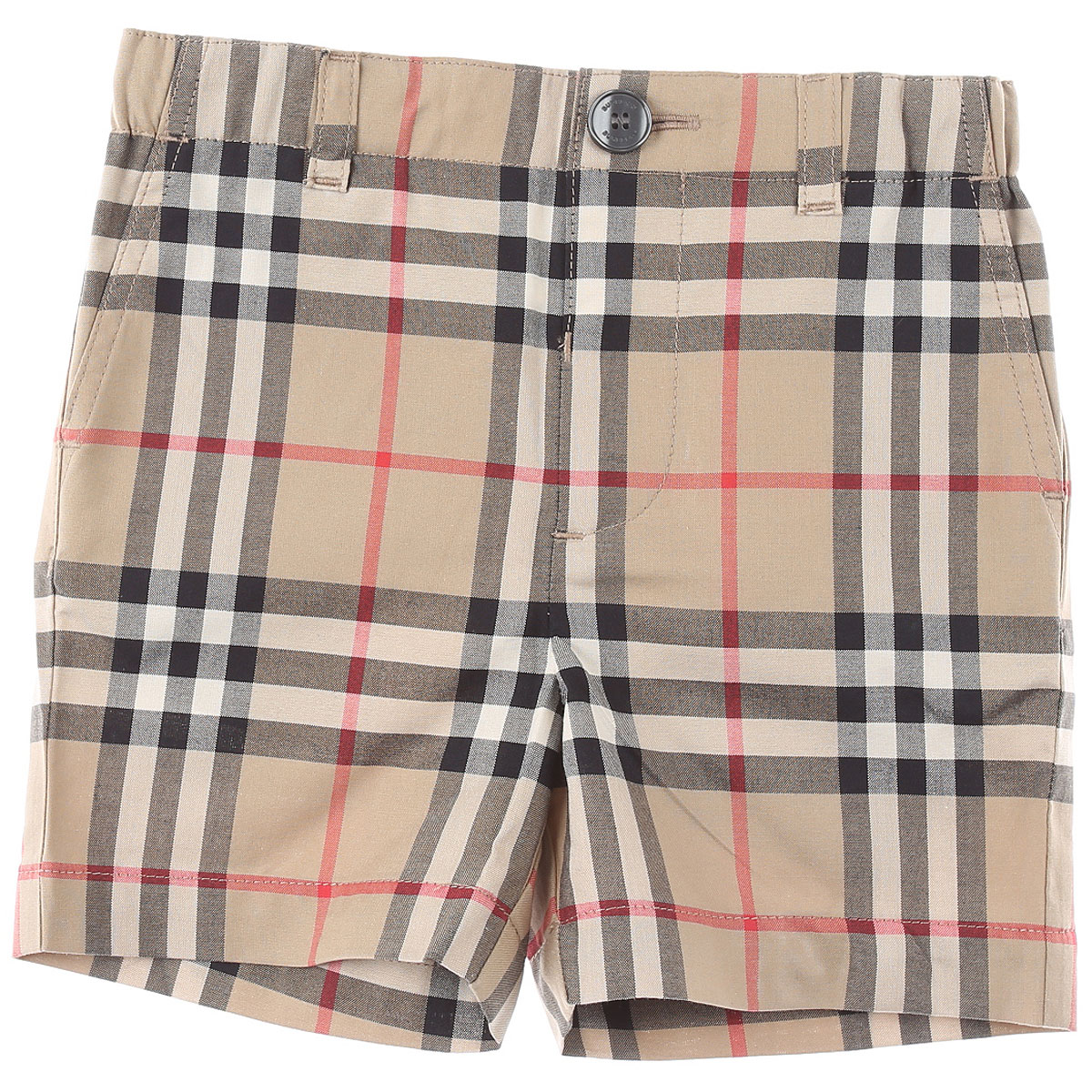 Burberry Baby Shorts for Boys On Sale, Beige, Cotton, 2019, 12 M 18 M 2Y 6M