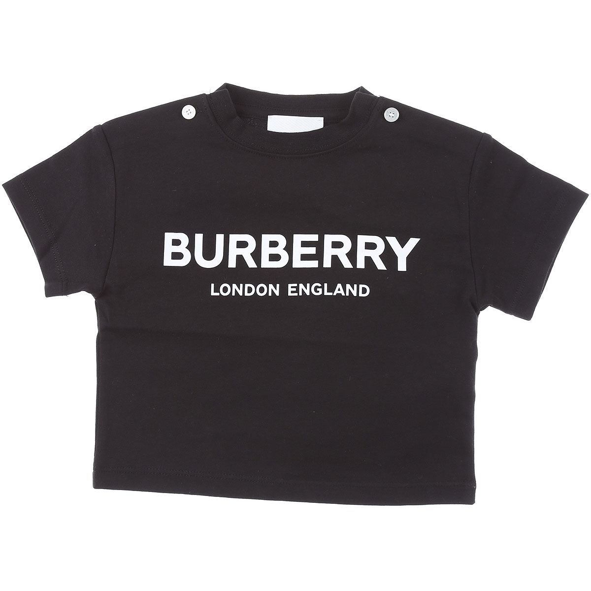Burberry Baby T-Shirt for Boys On Sale, Black, Cotton, 2019, 12 M 18M 6M