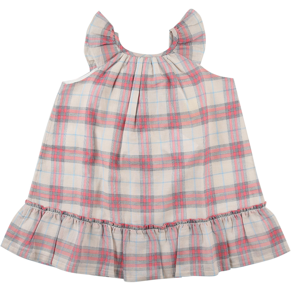 Burberry Baby Dress for Girls On Sale in Outlet, Pink, Cotton, 2019, 2Y 6M 9M