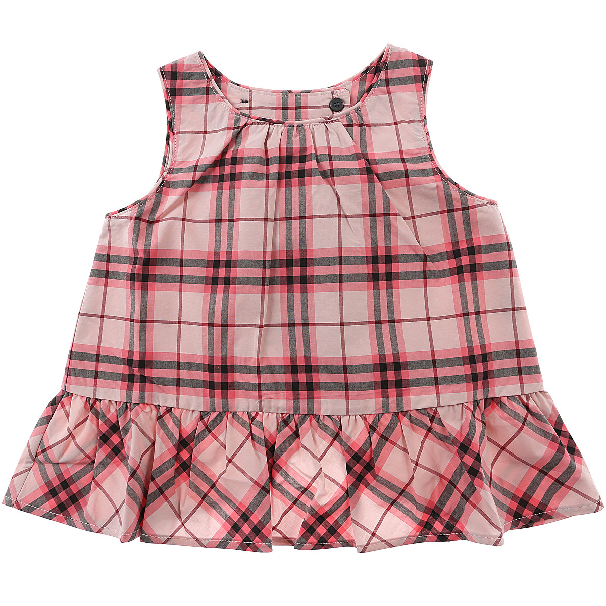Burberry Baby Dress for Girls On Sale in Outlet, Bright Rose, Cotton, 2019, 12M 2Y