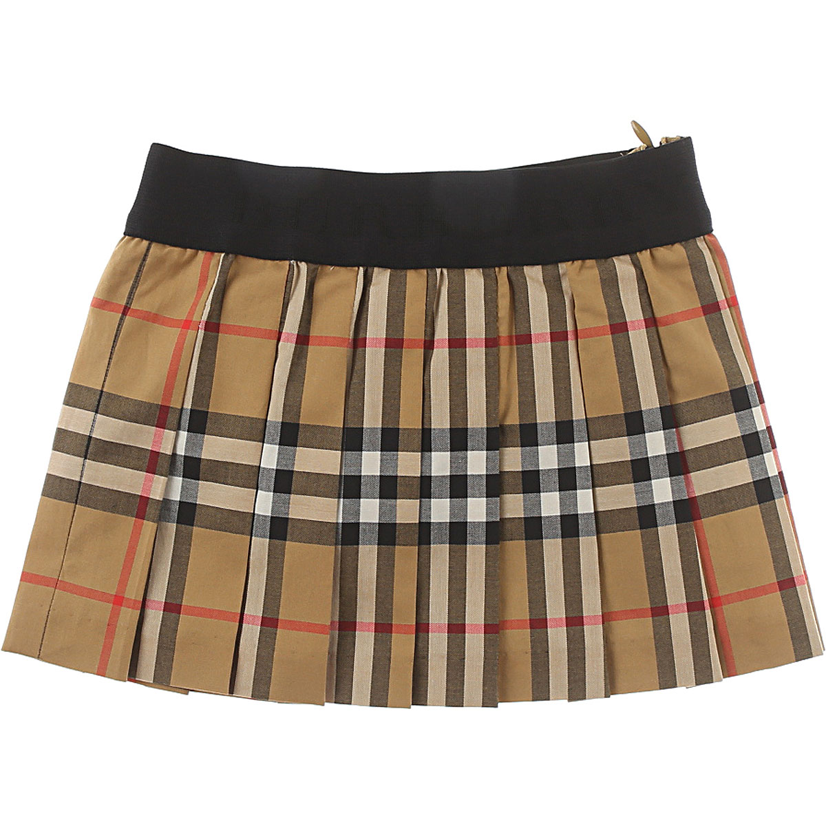 Image of Burberry Baby Skirts for Girls, Brown, Cotton, 2017, 12M 18M 3Y 6M