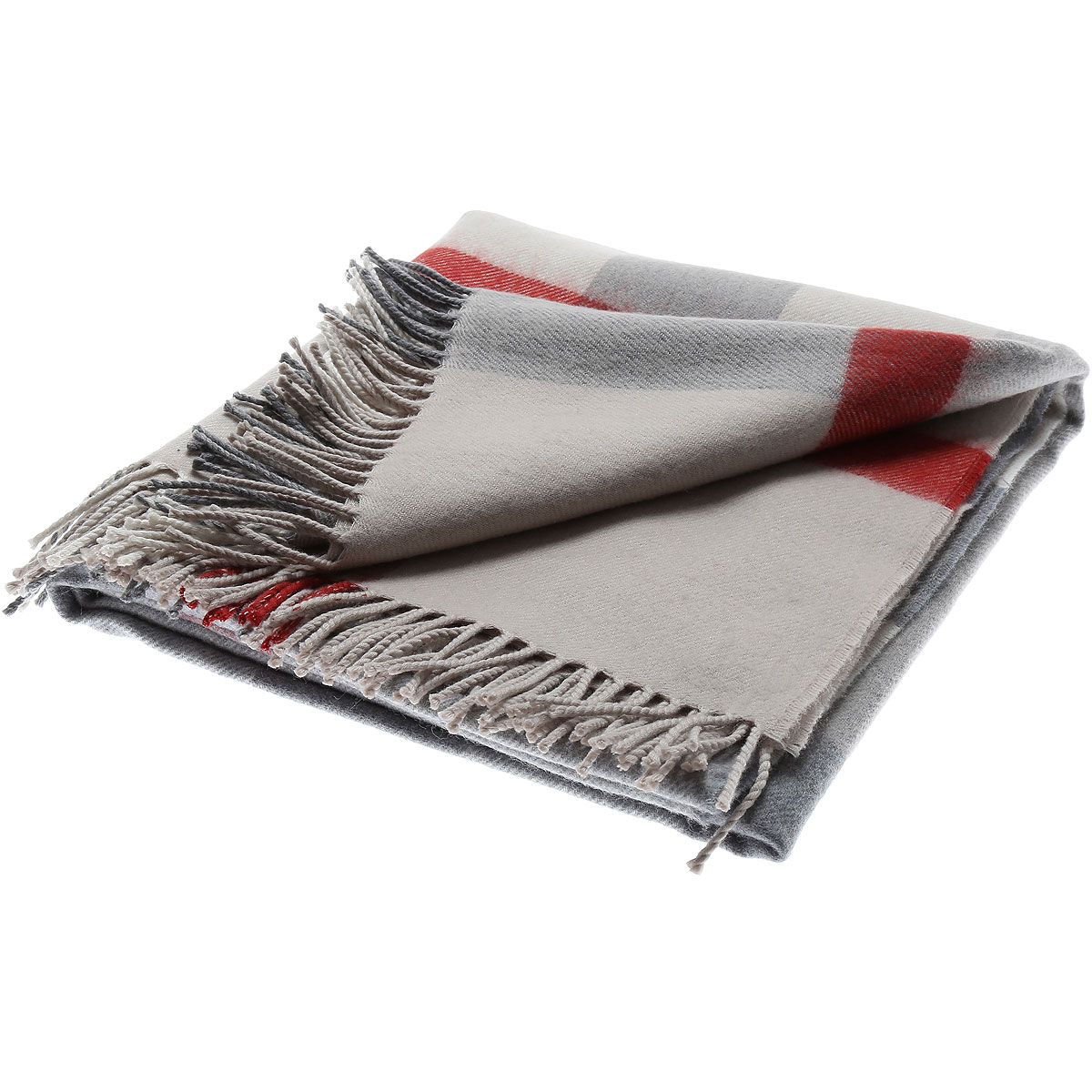 Image of Burberry Kids Scarves for Boys, Stone, Wool, 2017, one size