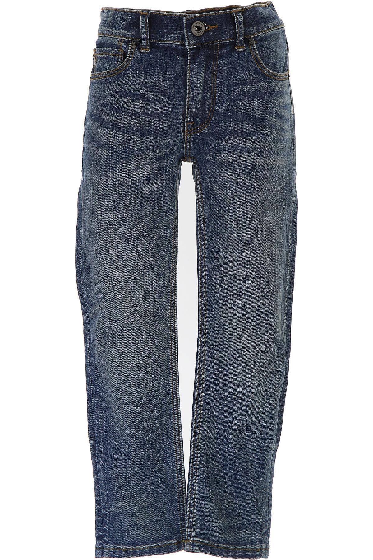 Image of Burberry Kids Jeans for Boys, Blue Denim, Cotton, 2017, 10Y 14Y 4Y 6Y 8Y