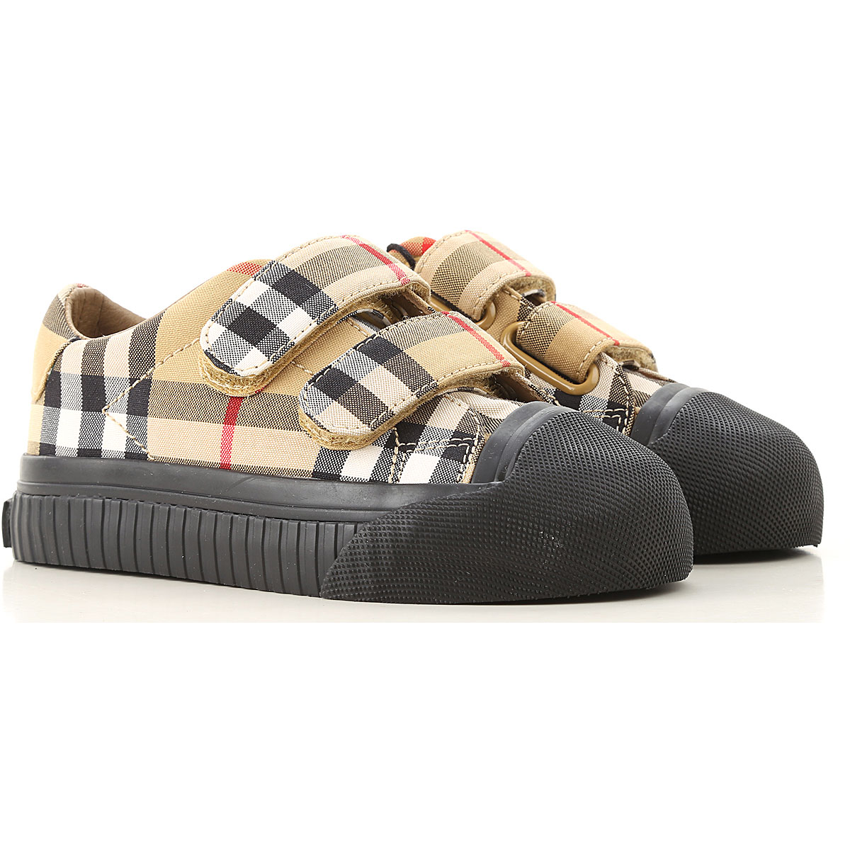Image of Burberry Kids Shoes for Boys, Antique Yellow, Leather, 2017, 24 26
