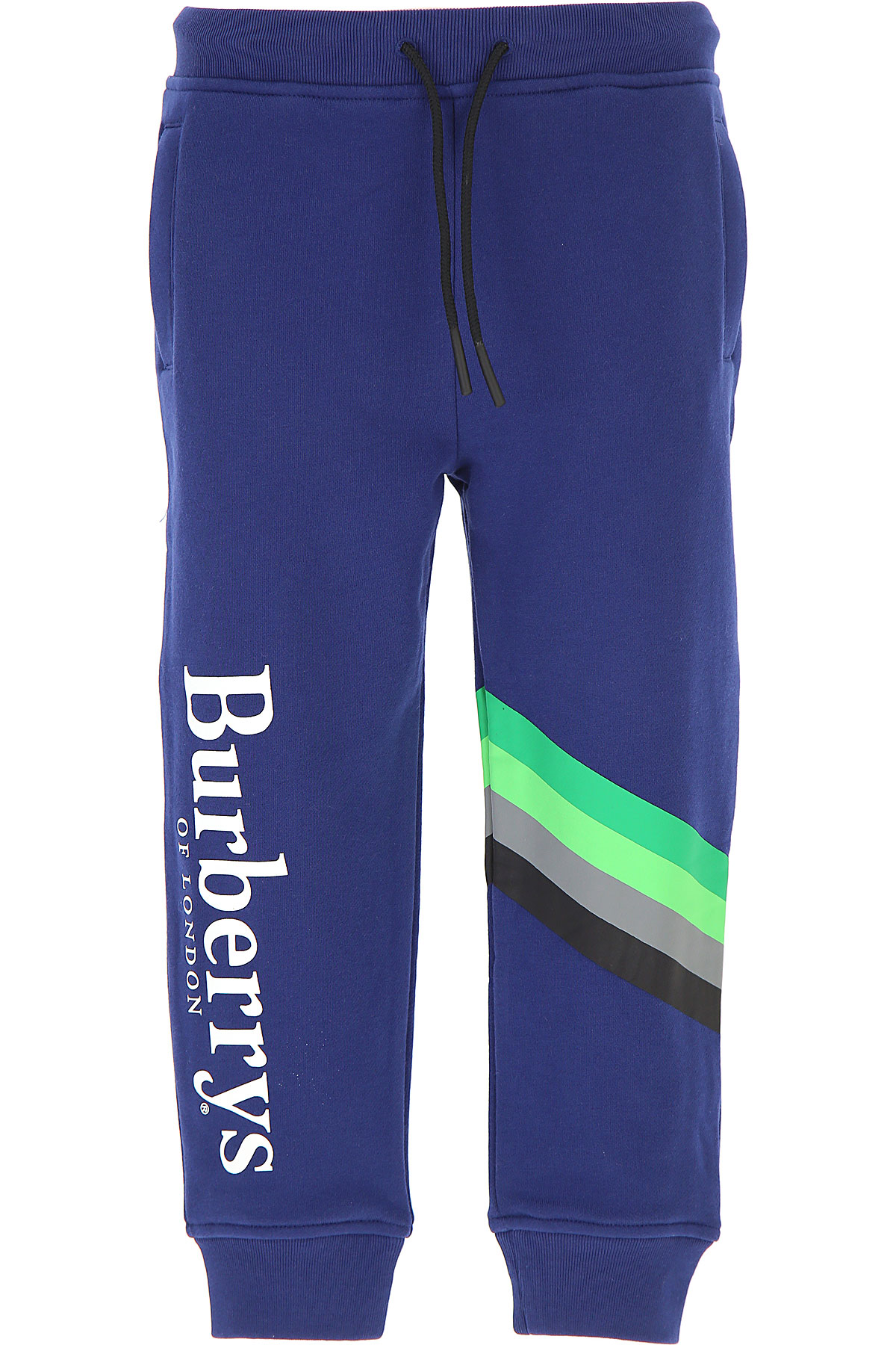 Image of Burberry Kids Sweatpants for Boys, Canvas Blue, Cotton, 2017, 10Y 14Y 6Y 8Y