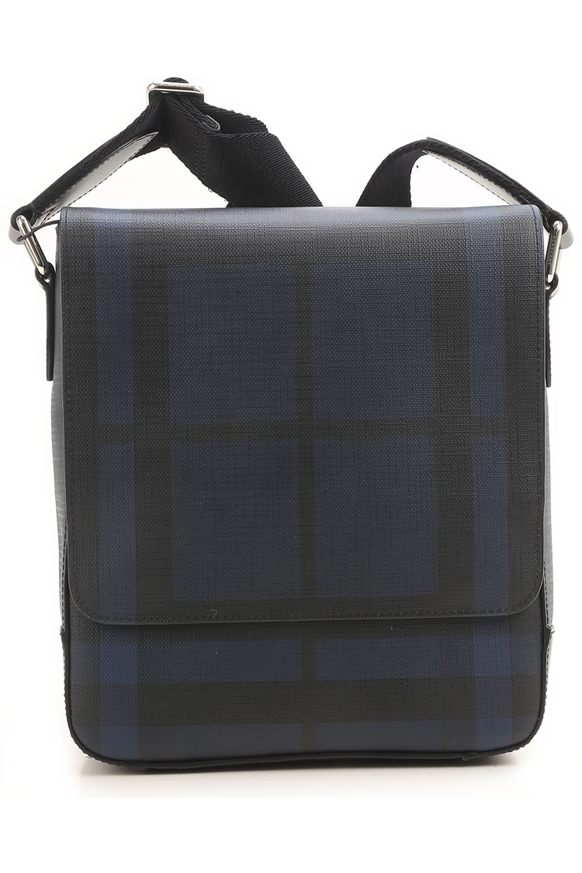 Image of Burberry Briefcases On Sale, navy, Coated Canvas, 2017