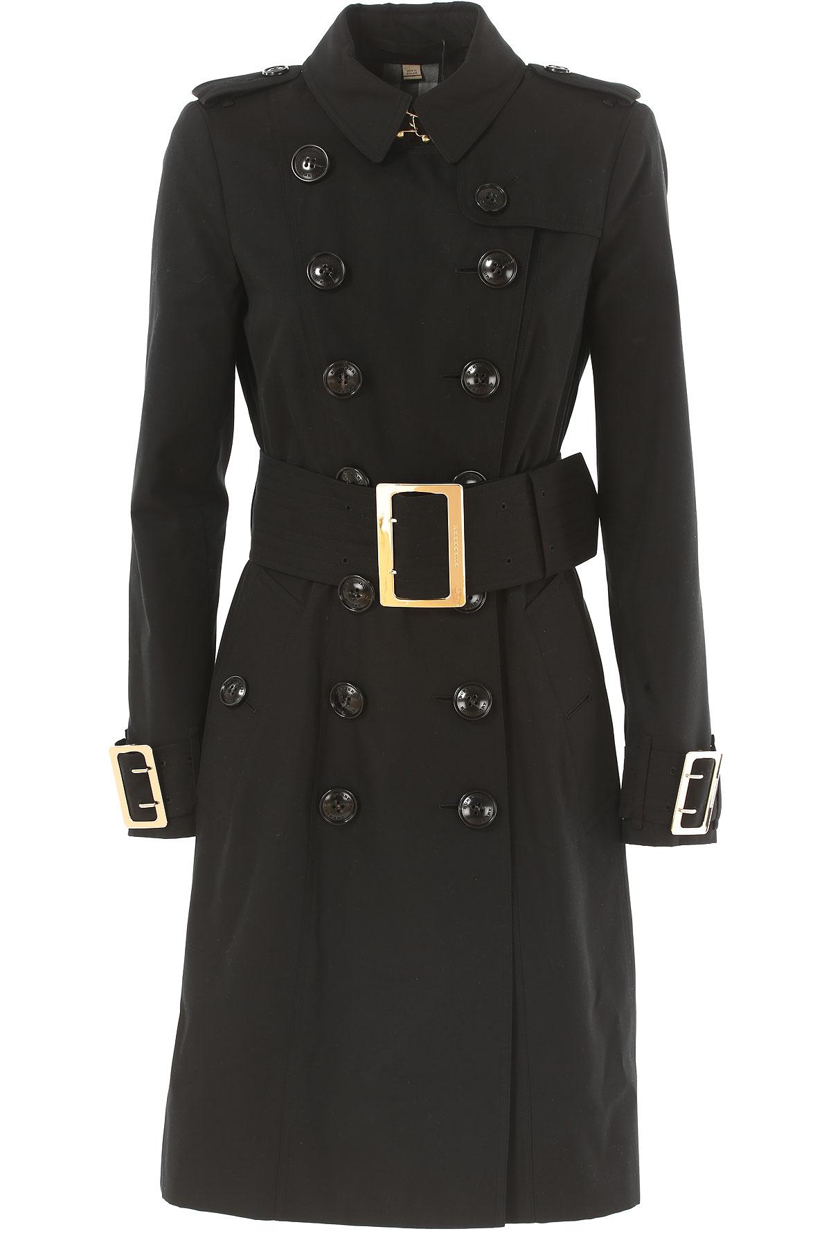 Womens Coat On Sale, Denim, Cotton, 2017, UK 6 - US 4 - EU 38 UK 8 - US 6 - EU 40 UK 10 - US 8 - EU 42 Burberry