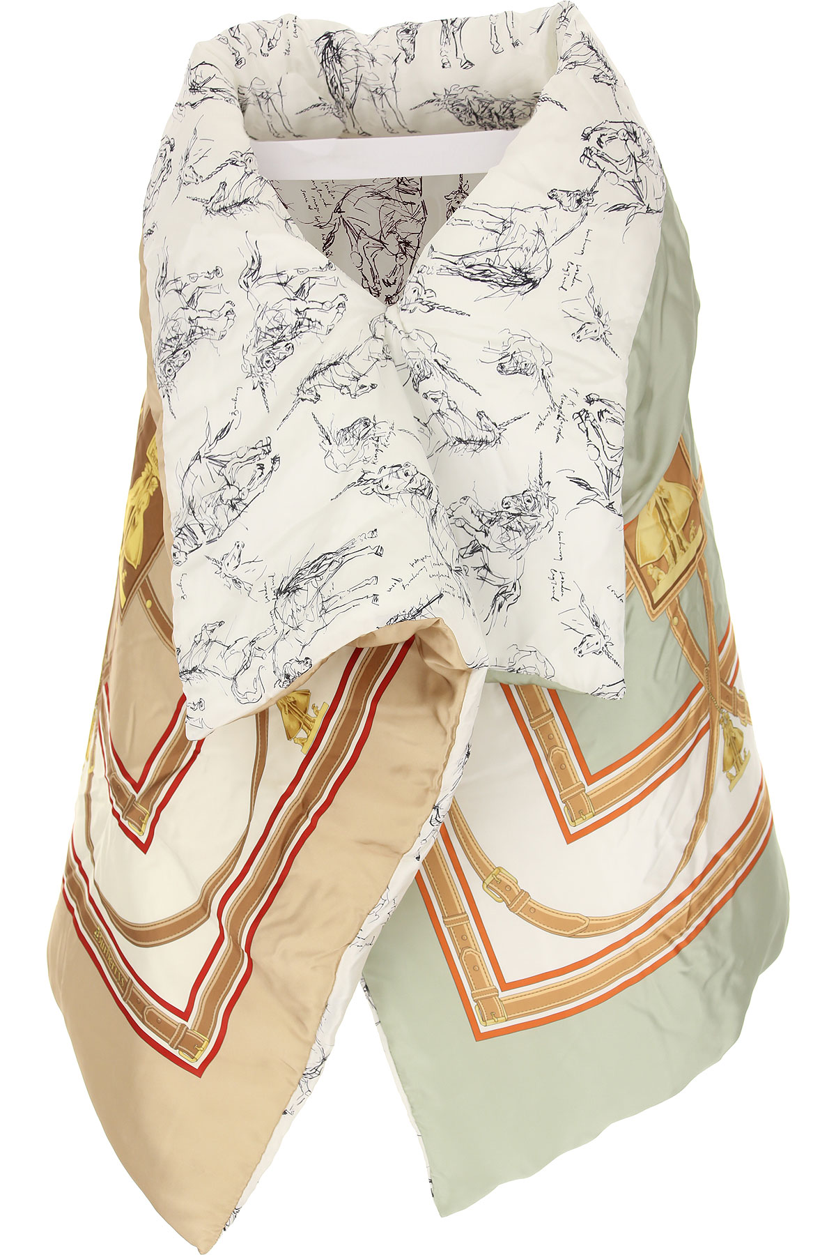 Burberry Scarf for Women On Sale in Outlet, Multicolor, Silk, 2019