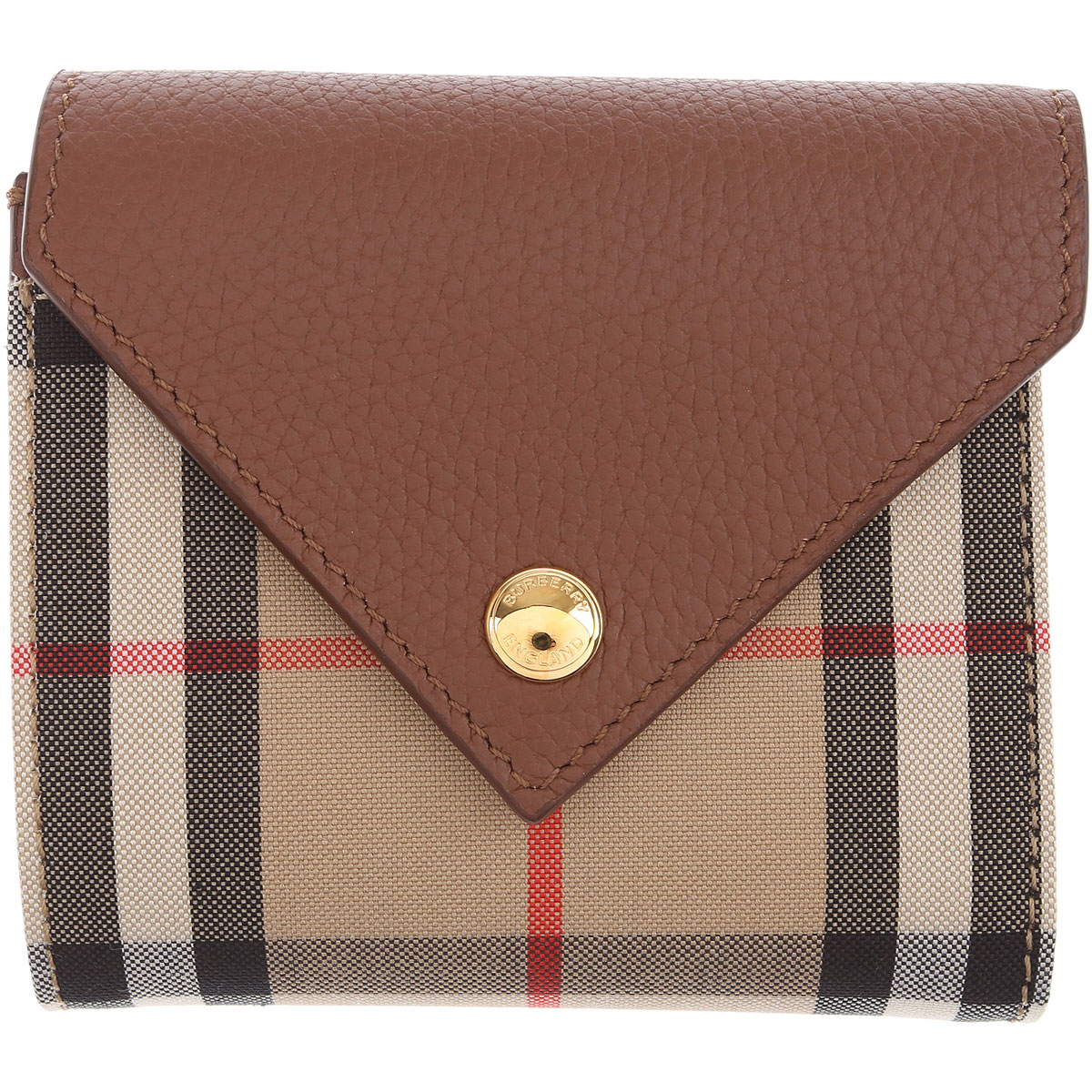 Burberry Wallet for Women On Sale, Leather Brown, Leather, 2019