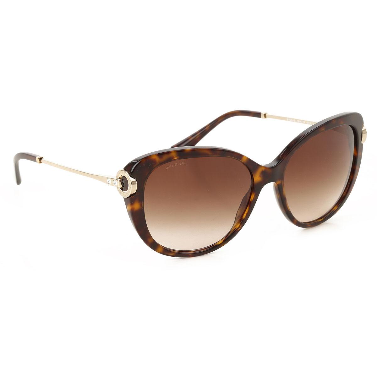 Image of Bvlgari Sunglasses On Sale, Dark Havana, 2017