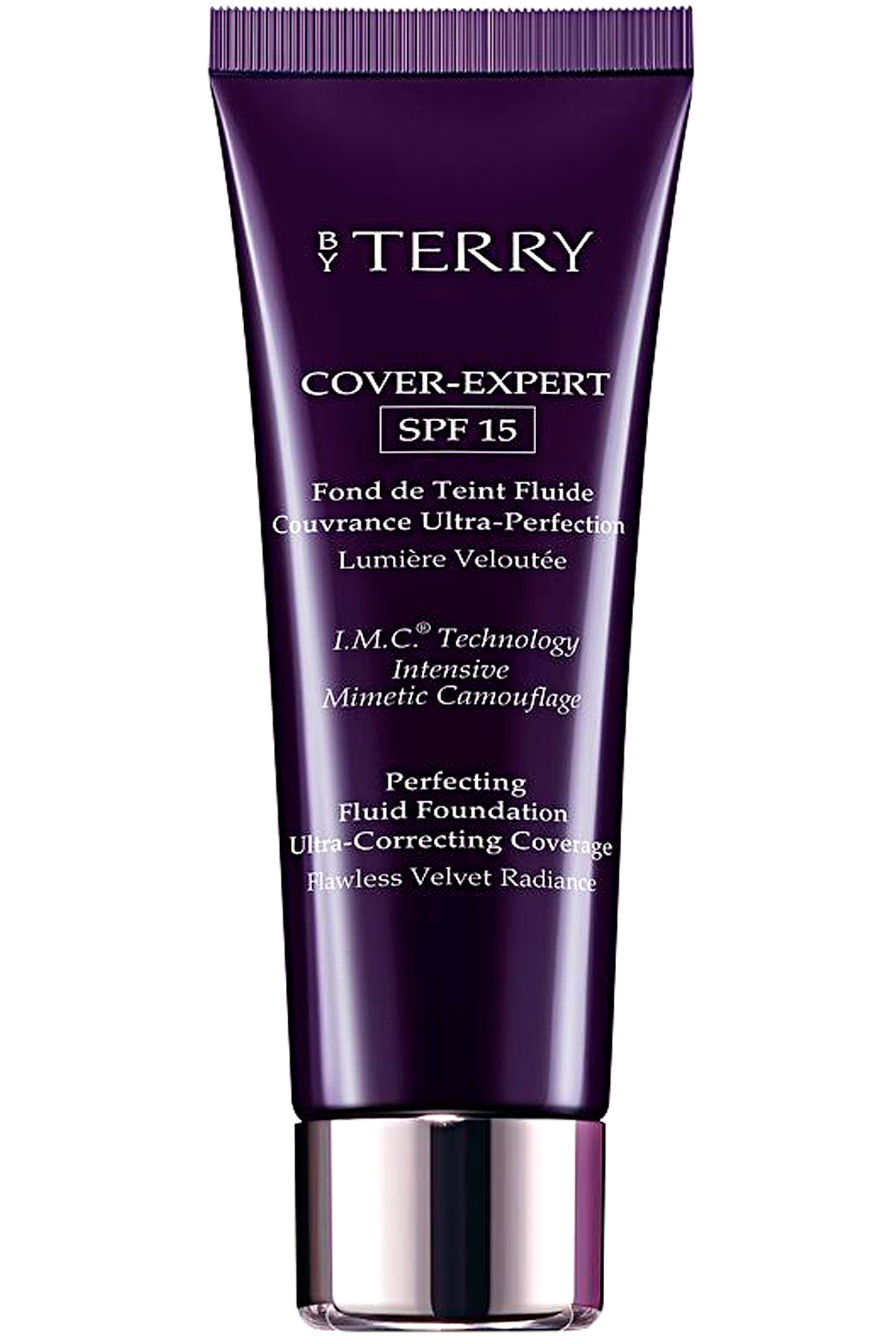 By Terry Makeup for Women, Cover-expert Spf15 - N.7 Vanilla Beige - 35 Ml, Vanilla Beige, 2019, 35 ml