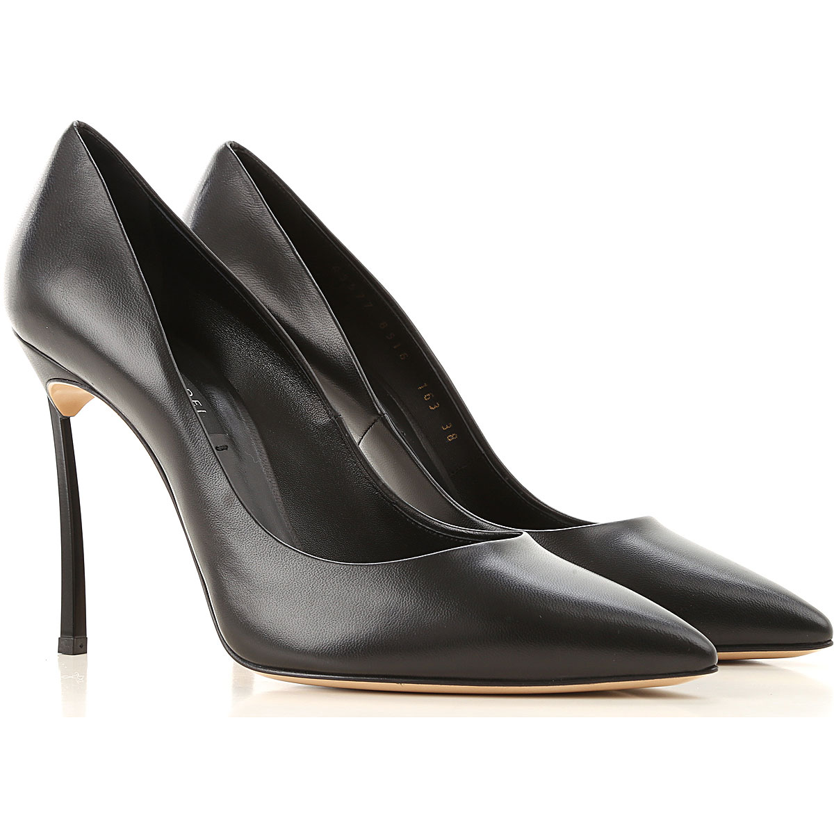 Casadei Pumps & High Heels for Women On Sale, Black, Leather, 2019, 6 7 8 9