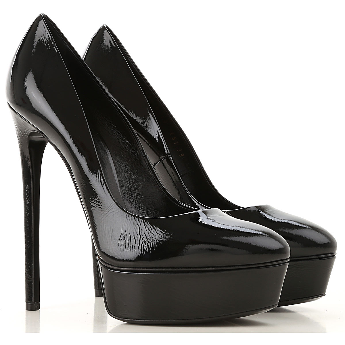 Casadei Pumps & High Heels for Women On Sale, Black, Patent Leather, 2019, 10 6 7 9