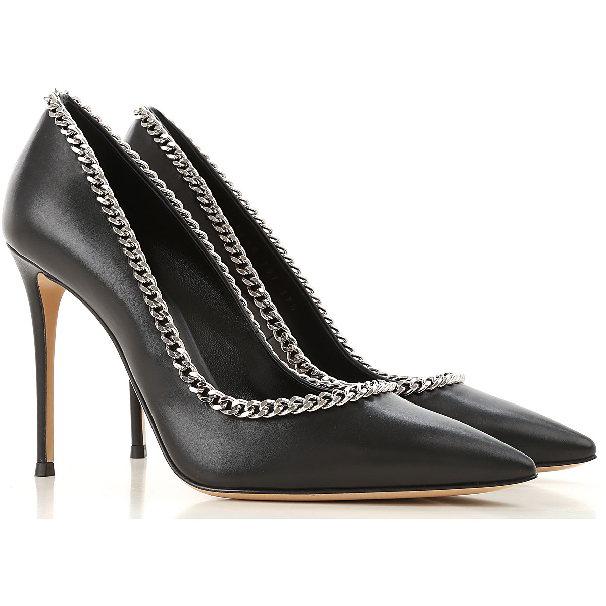 Casadei Pumps & High Heels for Women On Sale, Black, Leather, 2019, 7 8 8.5