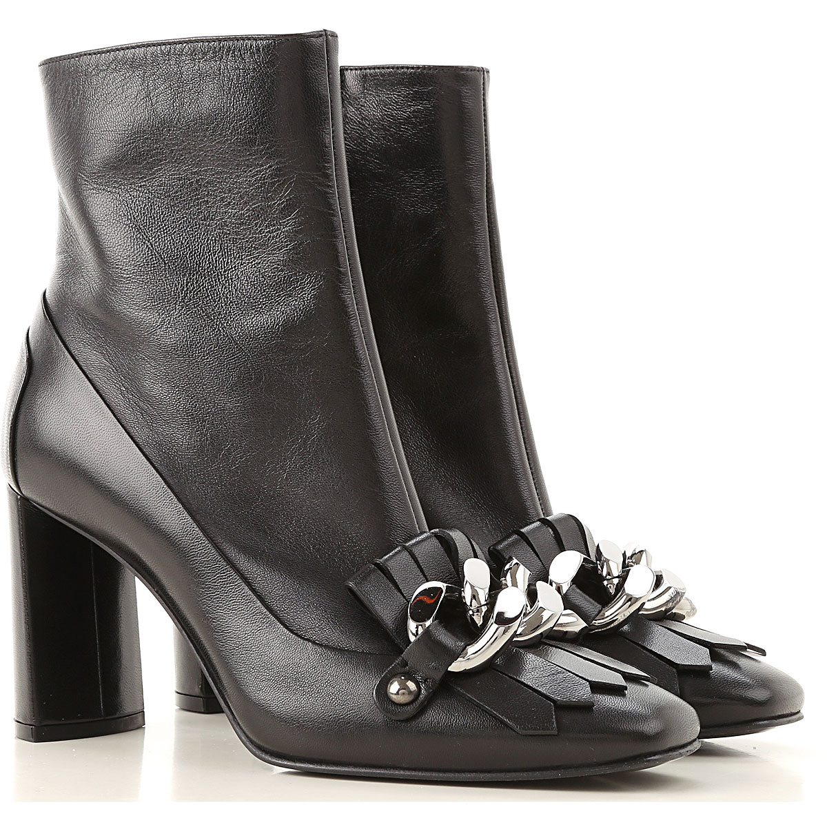 Casadei Boots for Women, Booties On Sale in Outlet, Black, Leather, 2019, 6