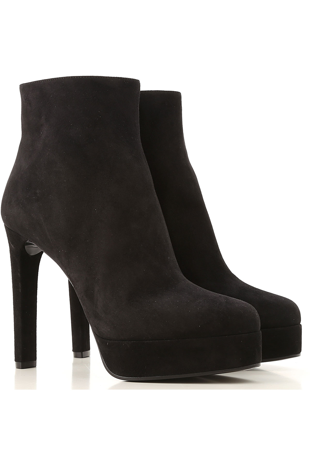 Casadei Boots for Women, Booties On Sale, Black, Suede leather, 2019, 10 6 6.5 7 8 8.5